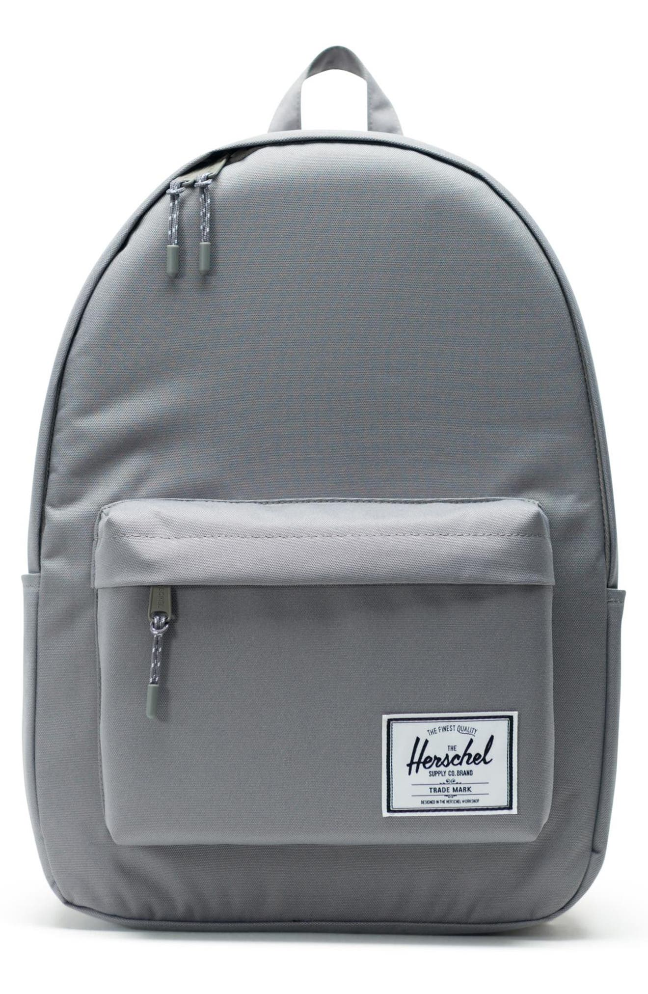 HERSCHEL SUPPLY CO., Classic XL Backpack, Main thumbnail 1, color, GREY