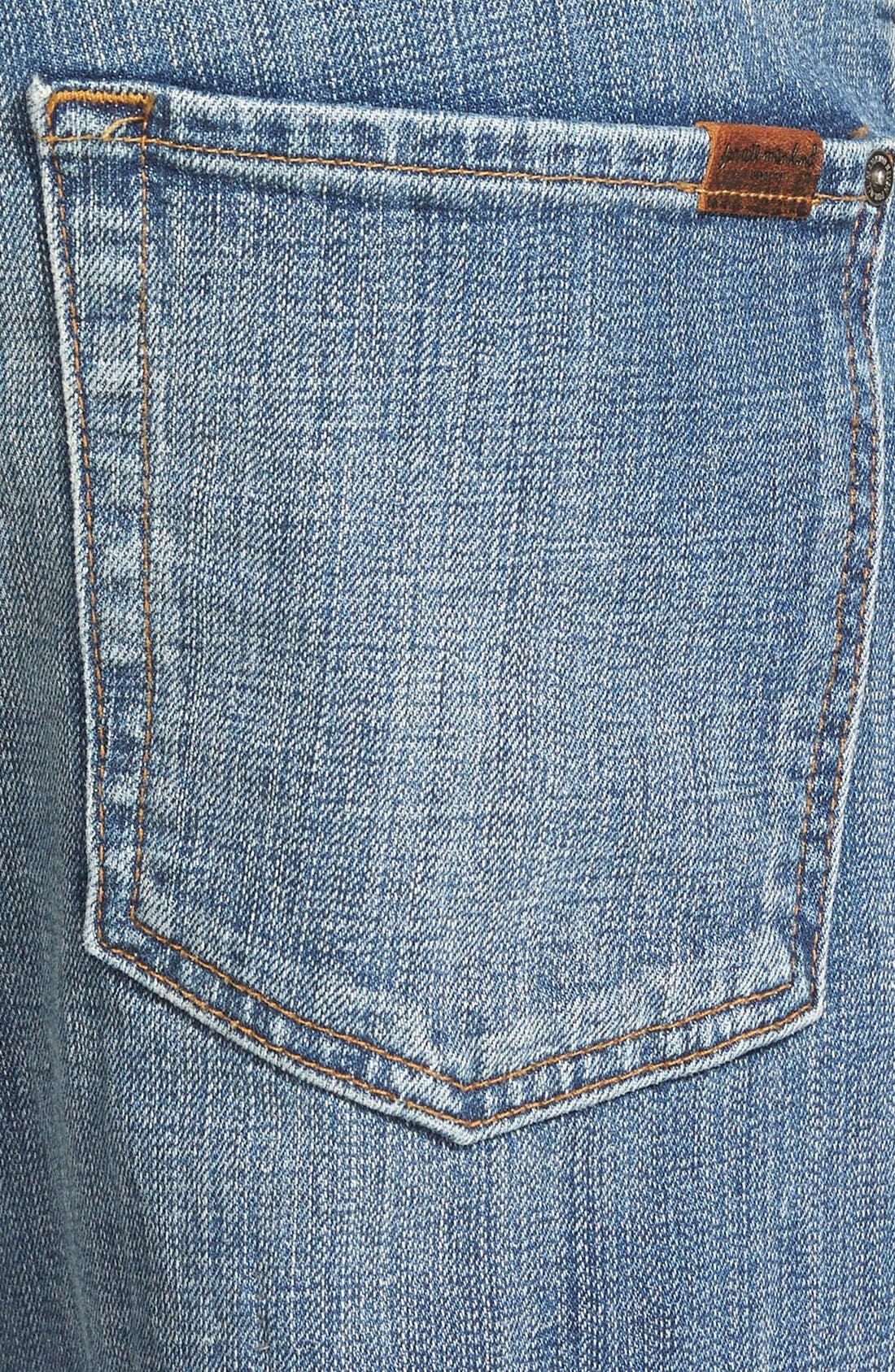 7 FOR ALL MANKIND<SUP>®</SUP>, 'Slimmy' Slim Fit Jeans, Alternate thumbnail 2, color, 400