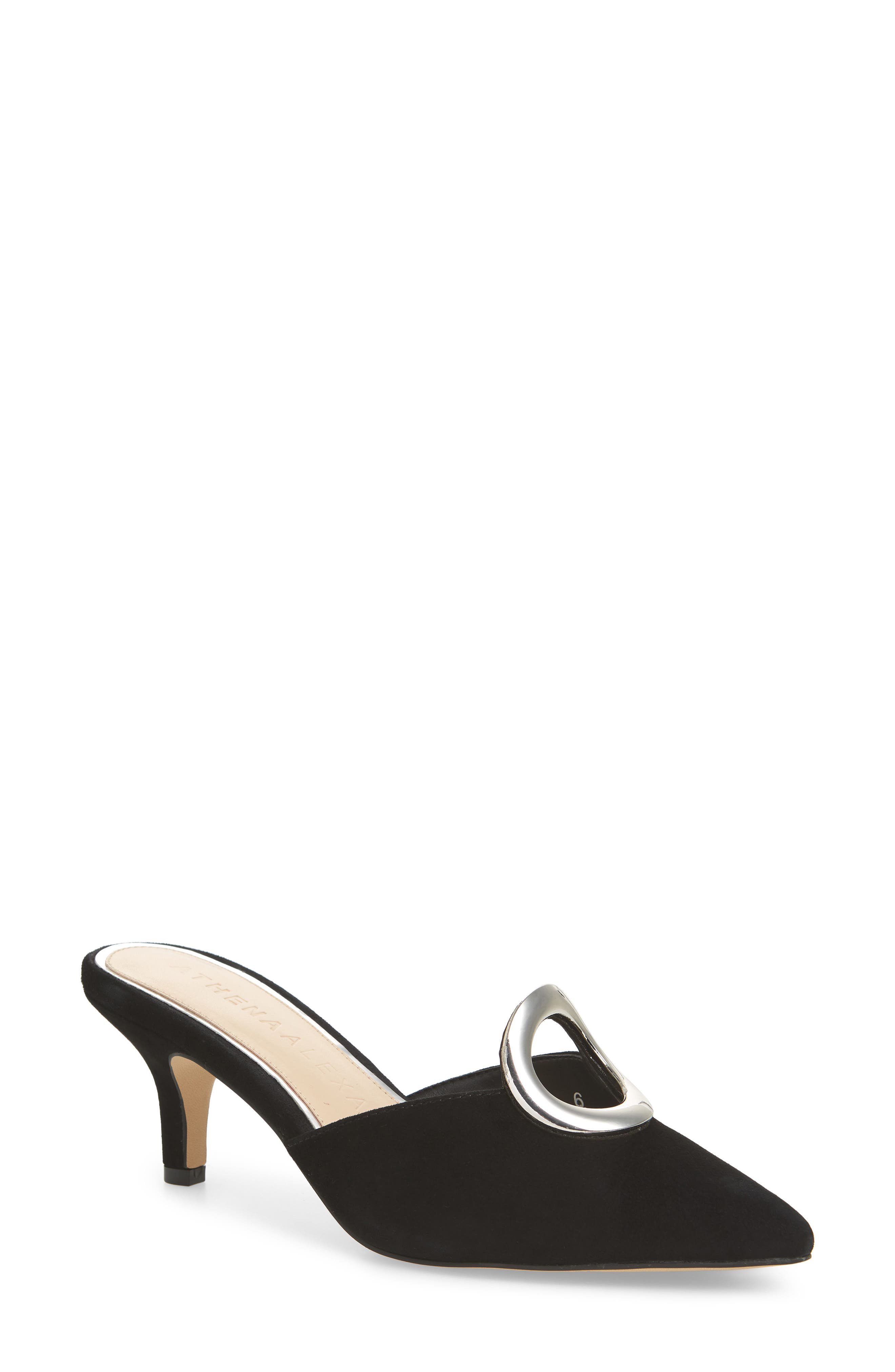 ATHENA ALEXANDER Pointy Toe Mule, Main, color, 003