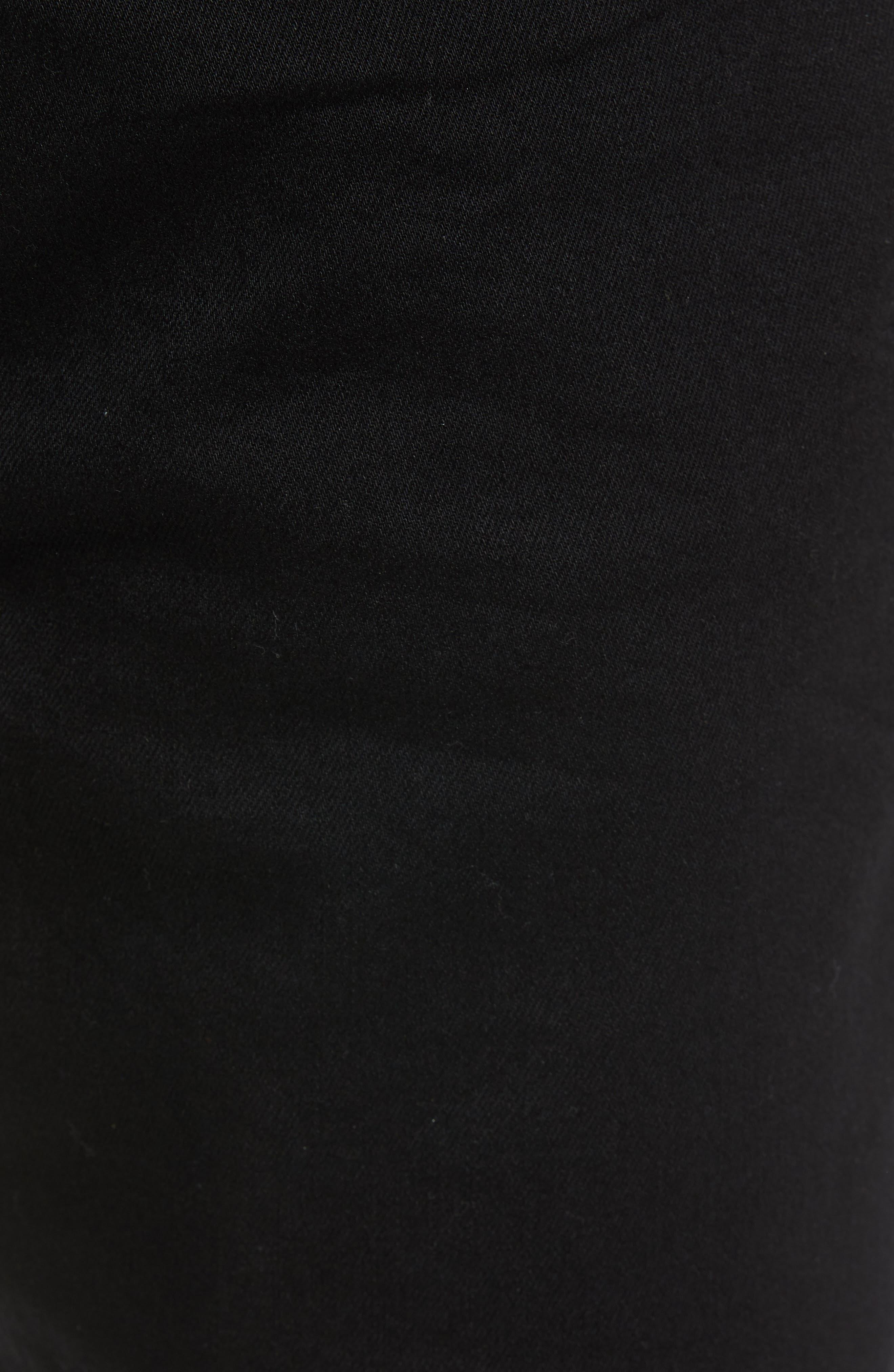 HUDSON JEANS, Hudson Axl Skinny Fit Jeans, Alternate thumbnail 5, color, HASKETT