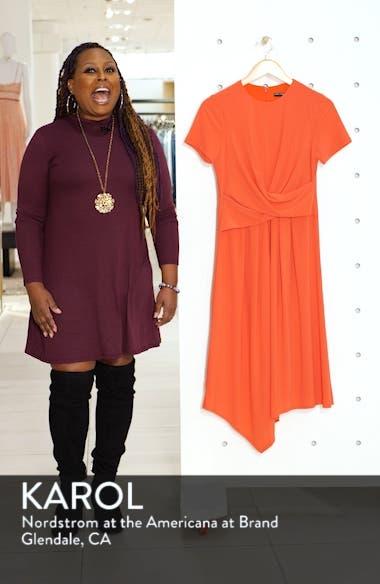 Draped Asymmetrical Dress, sales video thumbnail