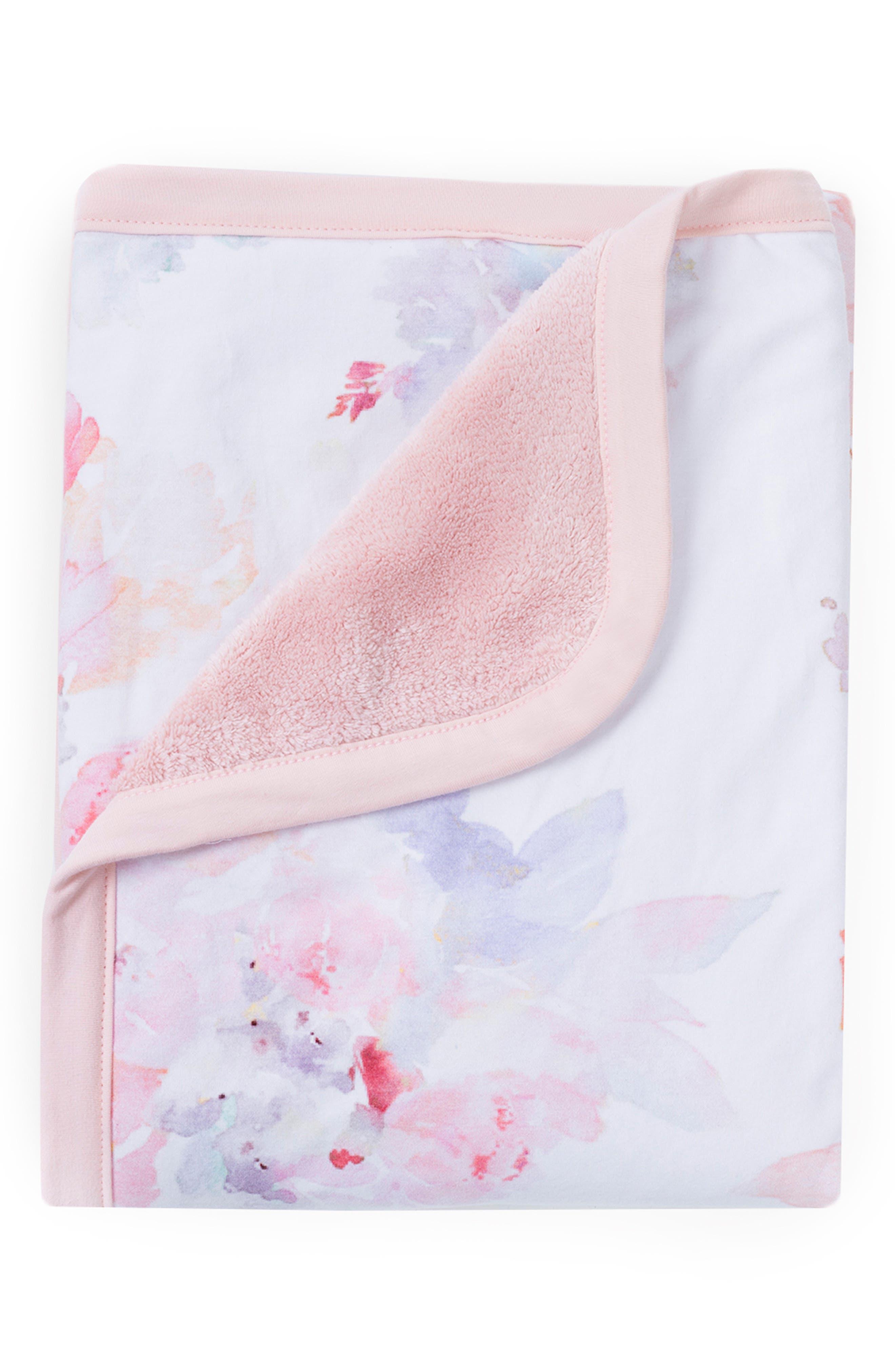 OILO, Prim Cuddle Blanket, Crib Skirt & Crib Sheet Set, Alternate thumbnail 2, color, PRIM