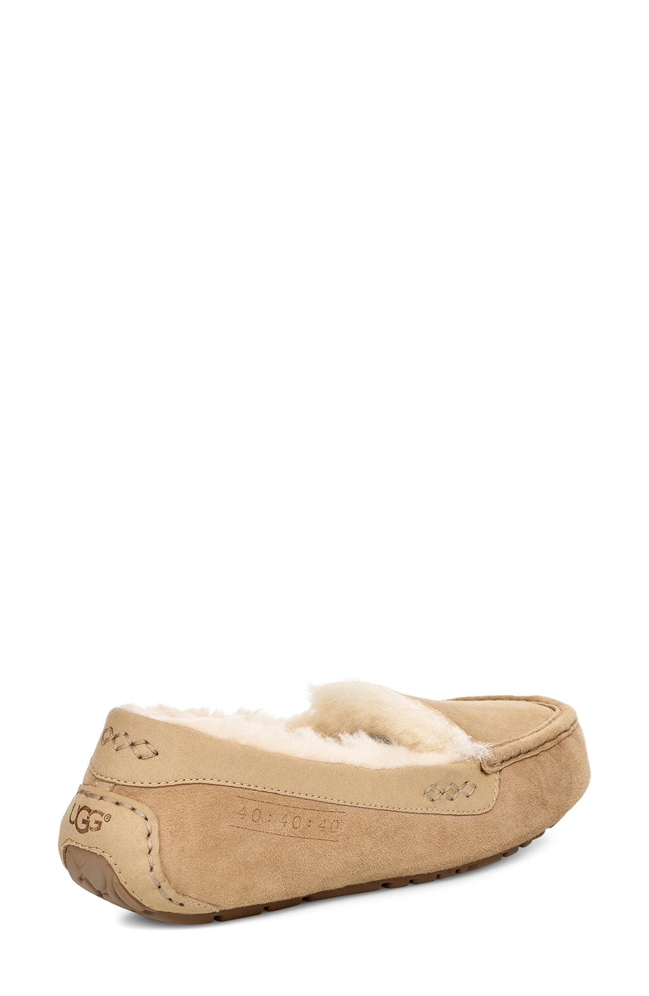 UGG<SUP>®</SUP>, Ansley 40:40:40 Anniversary Slipper, Alternate thumbnail 2, color, SAND