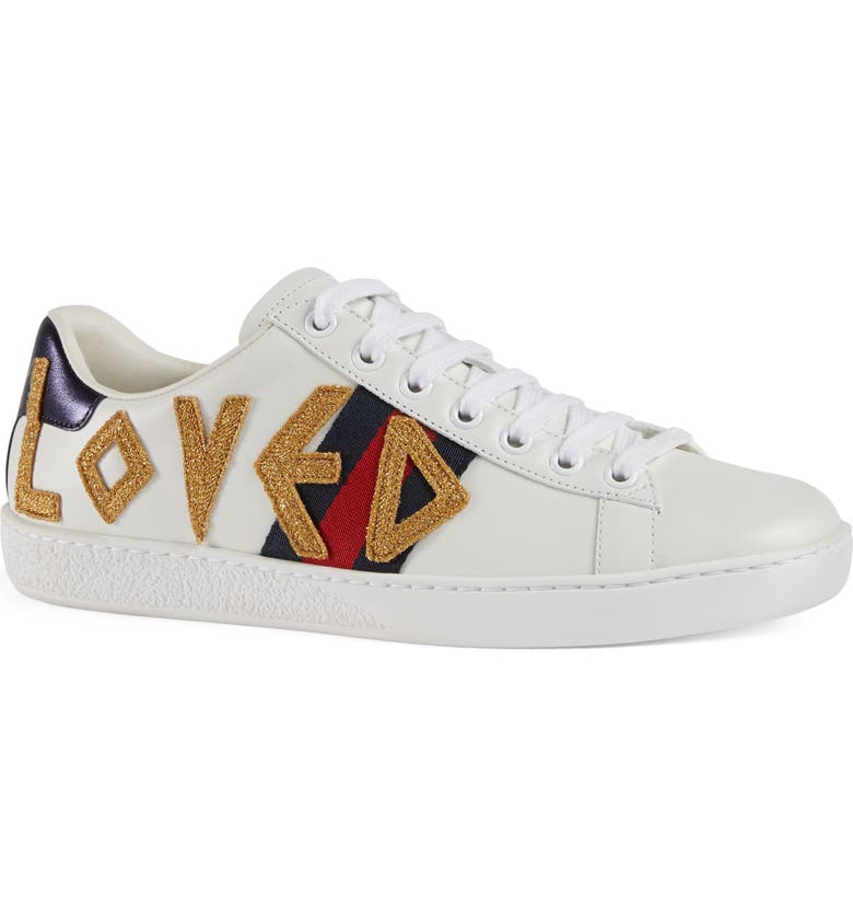 1b13cbc8831 Gucci New Ace Loved Sneakers (Women)