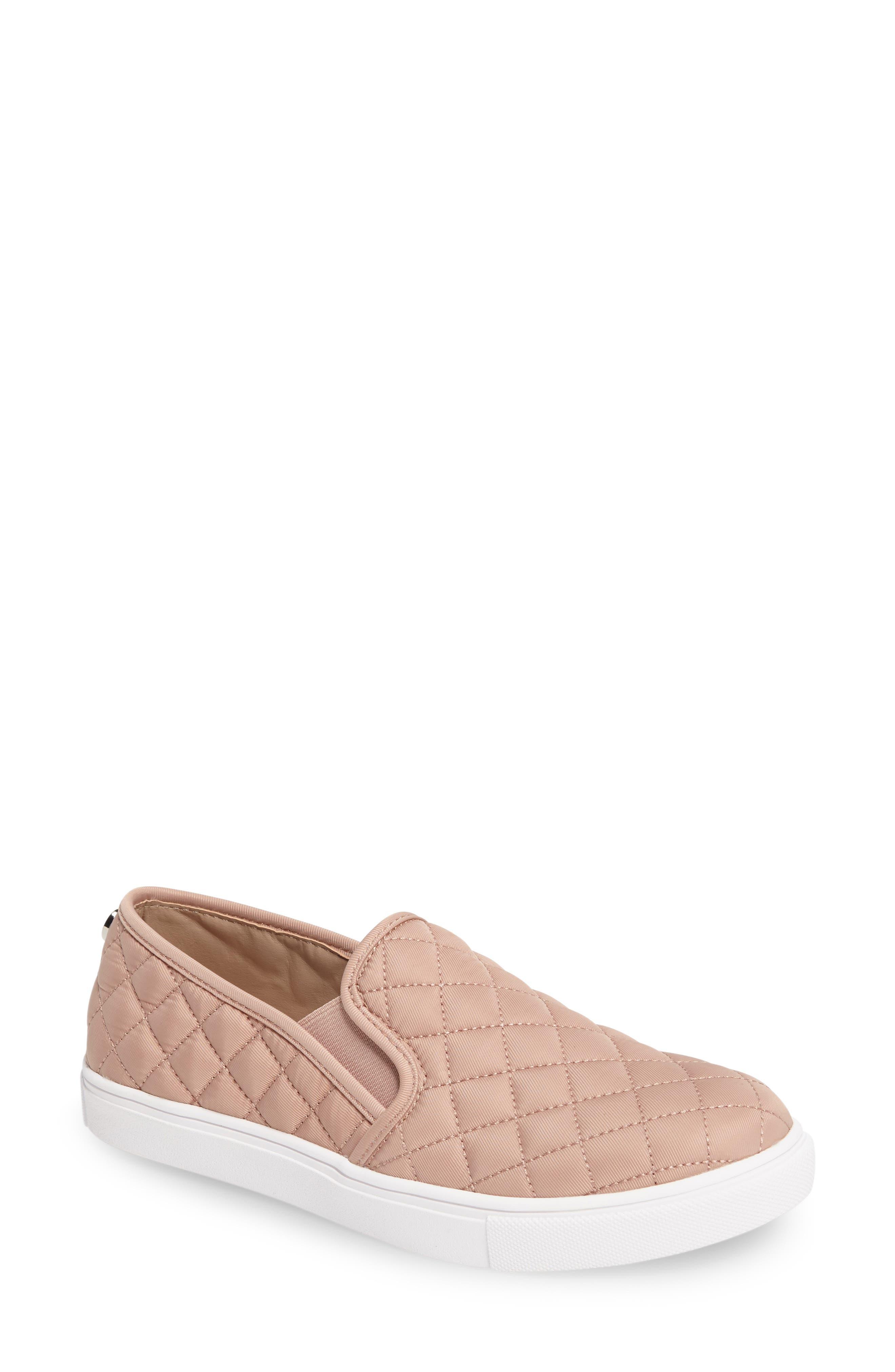 STEVE MADDEN, 'Ecntrcqt' Sneaker, Main thumbnail 1, color, BLUSH FABRIC