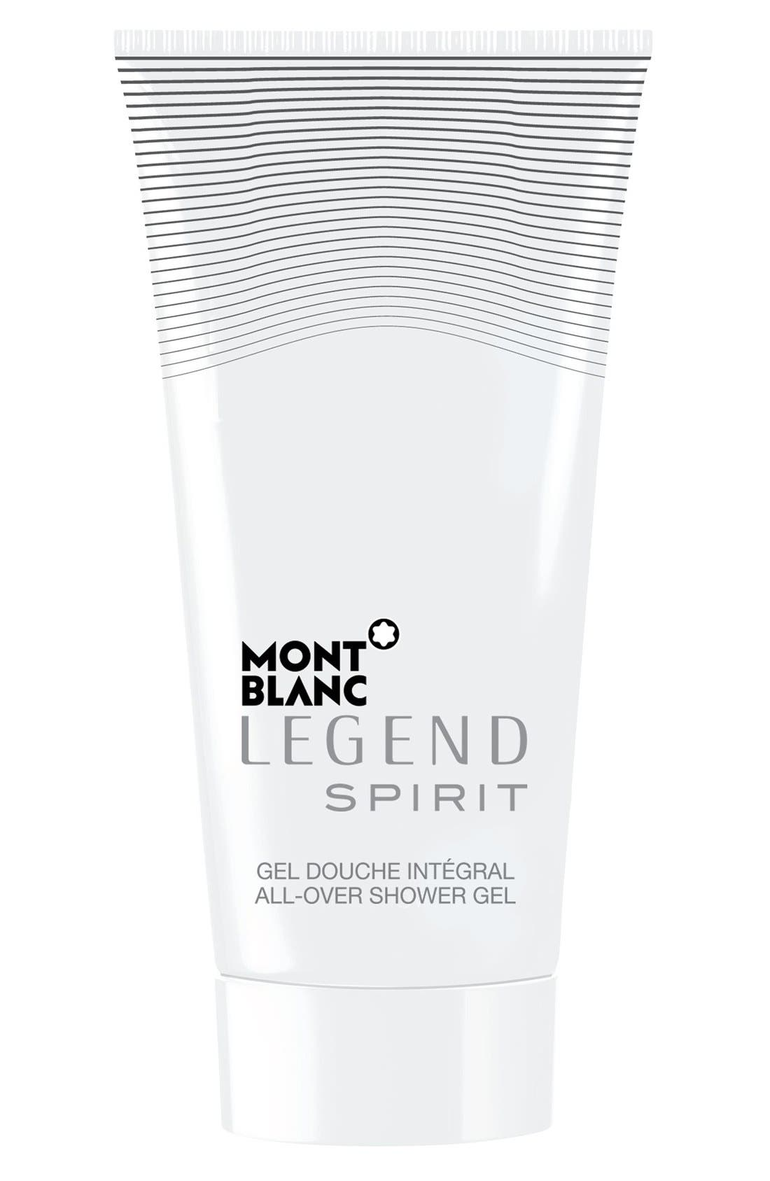MONTBLANC, 'Legend Spirit' All-Over Shower Gel, Main thumbnail 1, color, NO COLOR