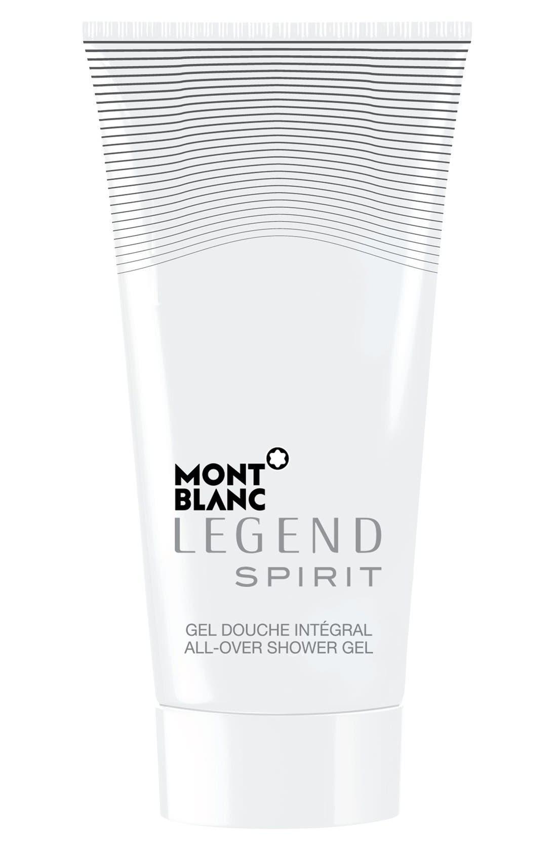 MONTBLANC 'Legend Spirit' All-Over Shower Gel, Main, color, NO COLOR
