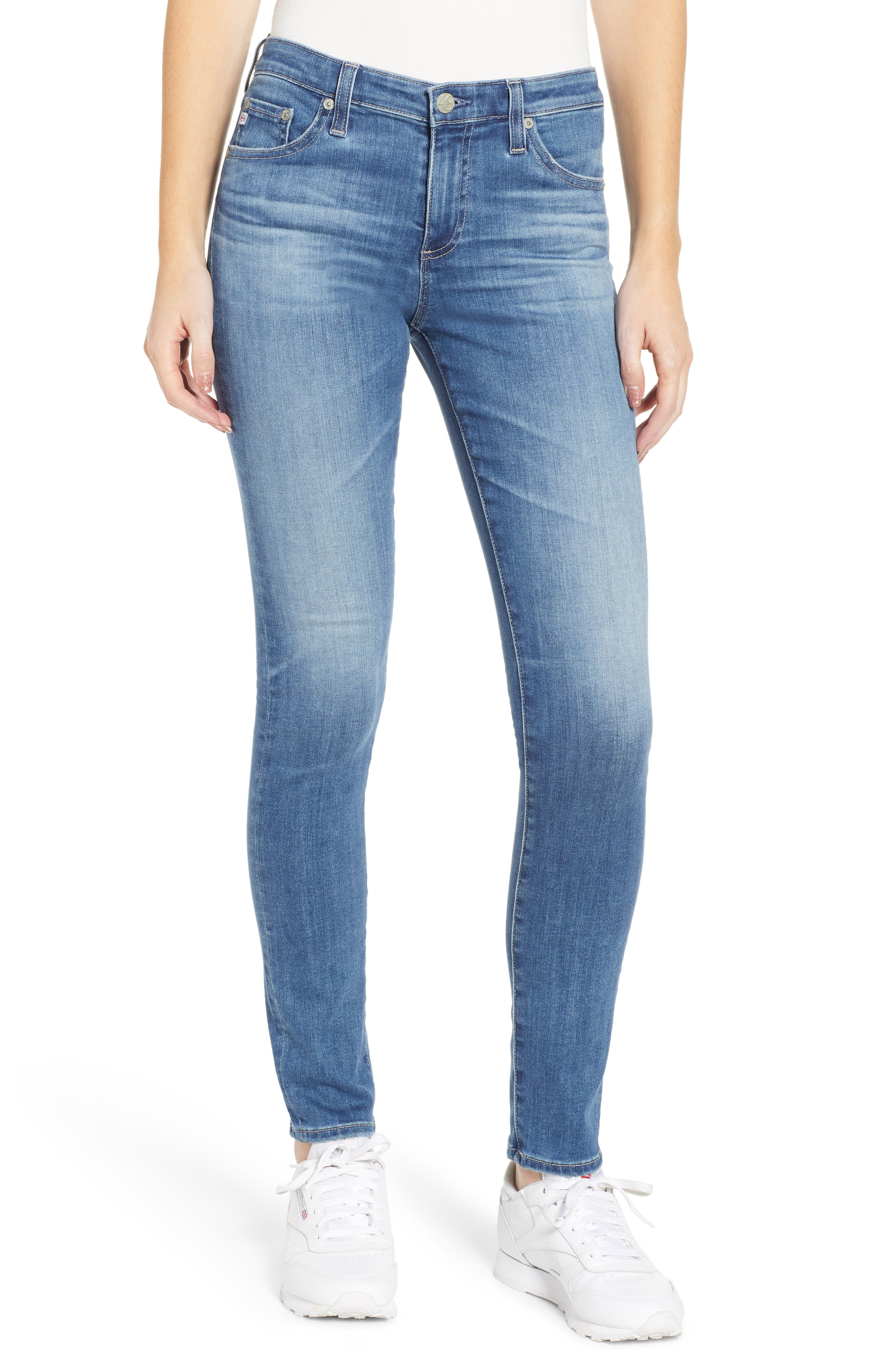 AG The Prima Cigarette Jeans, Main, color, 15 YEAR AFFINITY