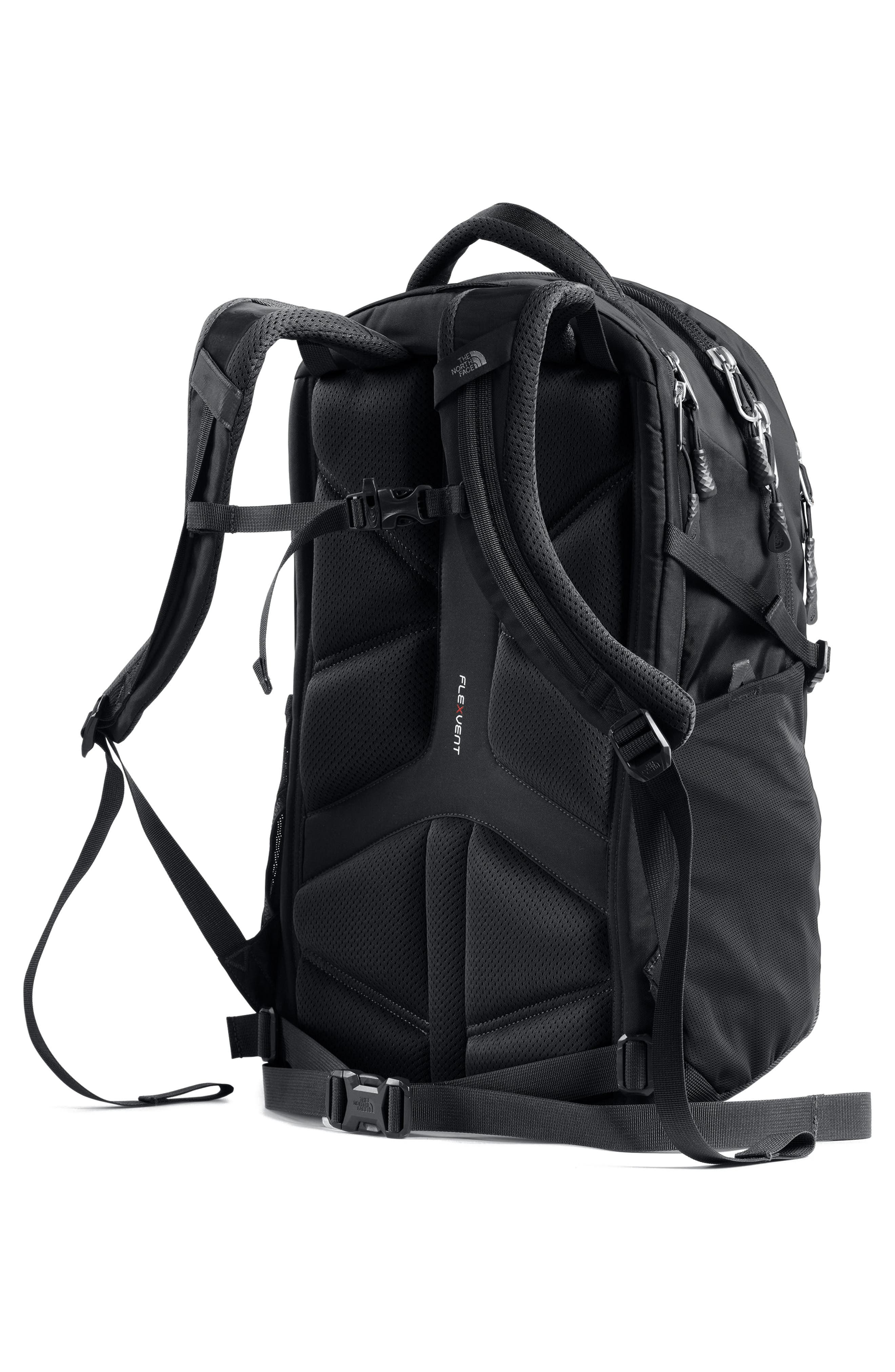 THE NORTH FACE, Recon Backpack, Alternate thumbnail 5, color, TNF BLACK