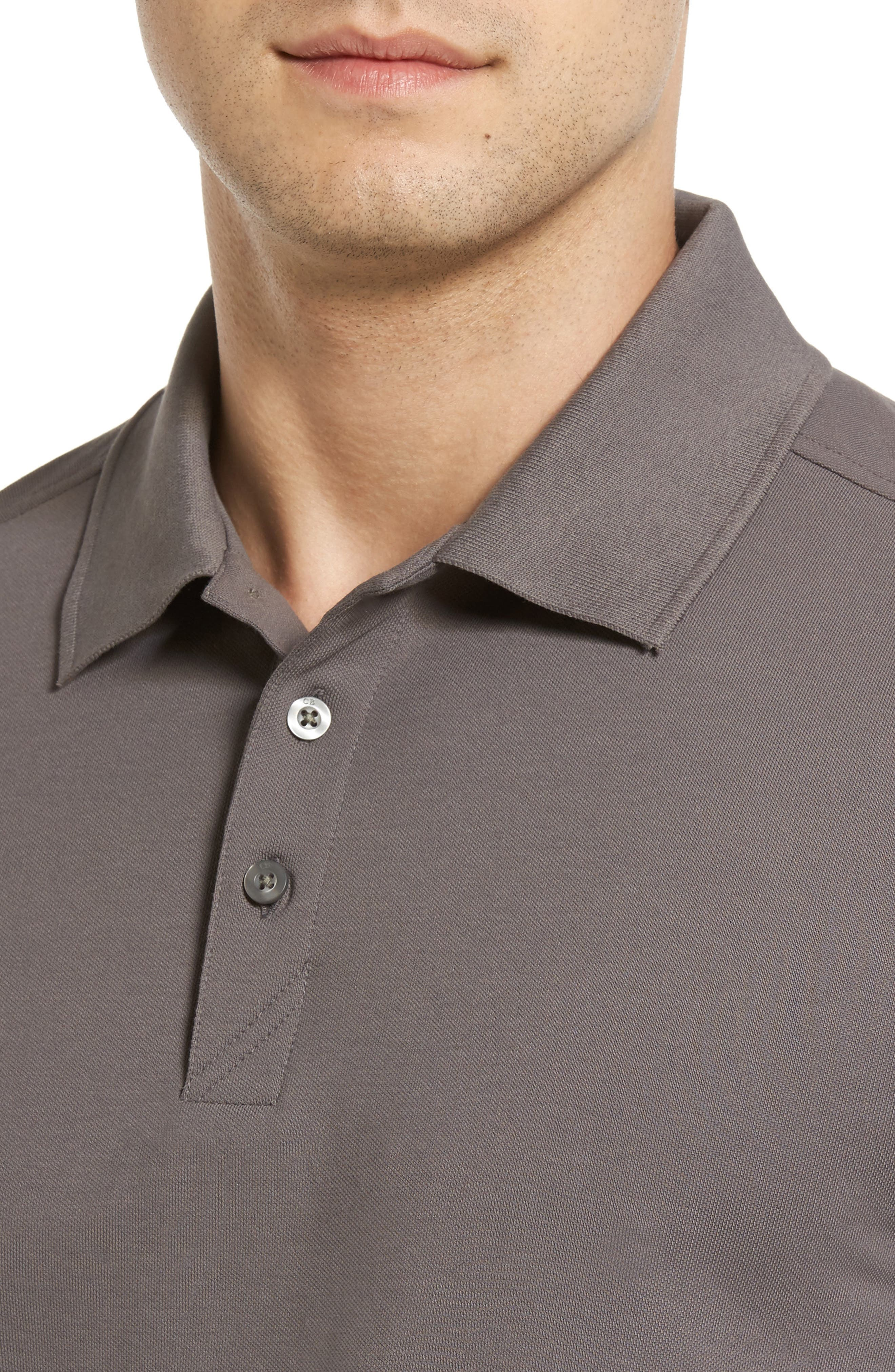 CUTTER & BUCK, Advantage Golf Polo, Alternate thumbnail 4, color, ELEMENTAL