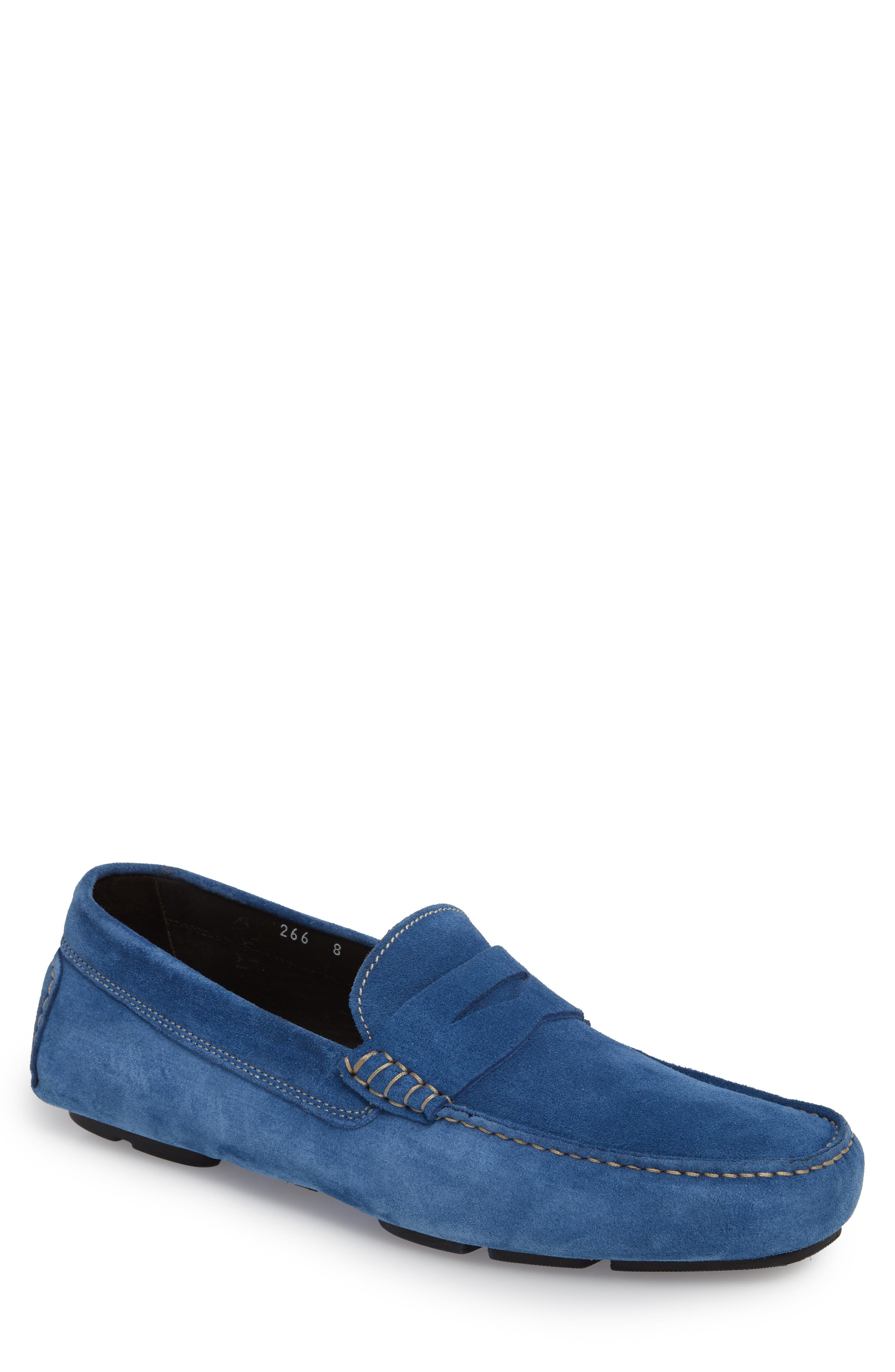 To Boot New York Jackson Penny Driving Loafer, Blue