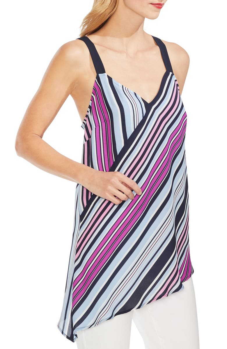 Vince Camuto Tops COLORFUL BOARDWALK TANK