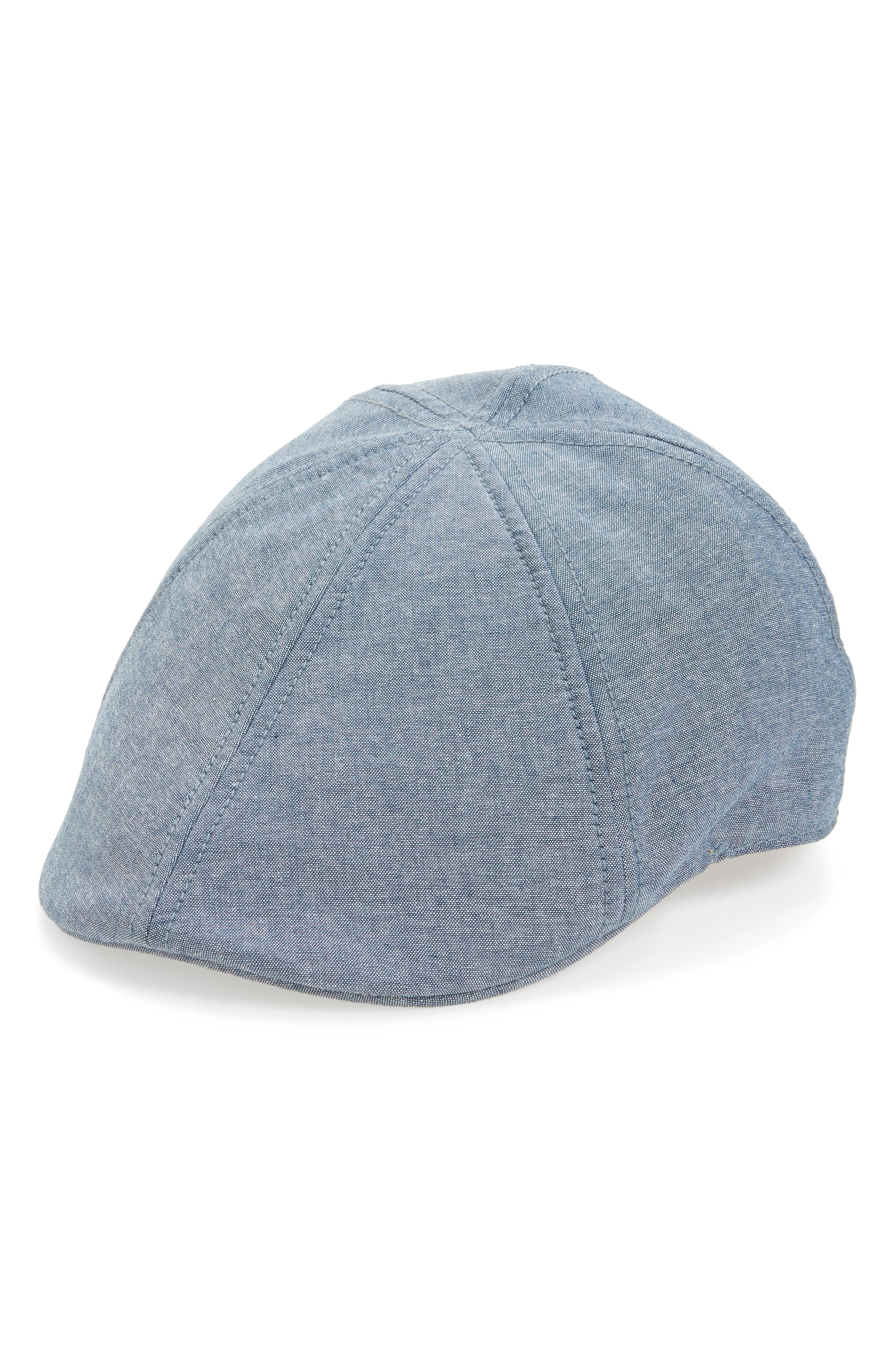 GOORIN BROTHERS Mr. Bang Driver's Hat, Main, color, BLUE