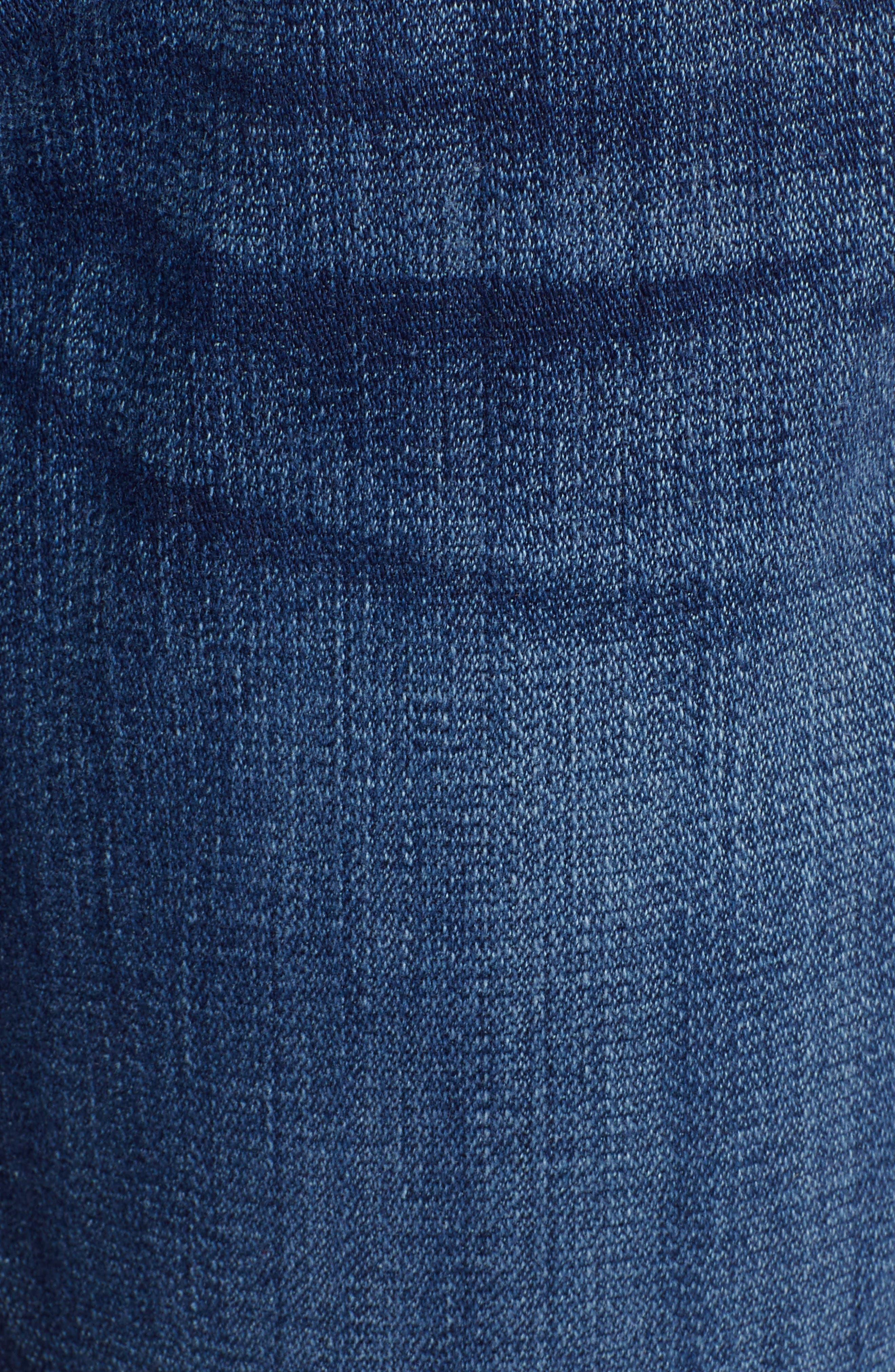 7 FOR ALL MANKIND<SUP>®</SUP>, Josefina Boyfriend Jeans, Alternate thumbnail 6, color, BROKEN TWILL VANITY W/ DESTROY