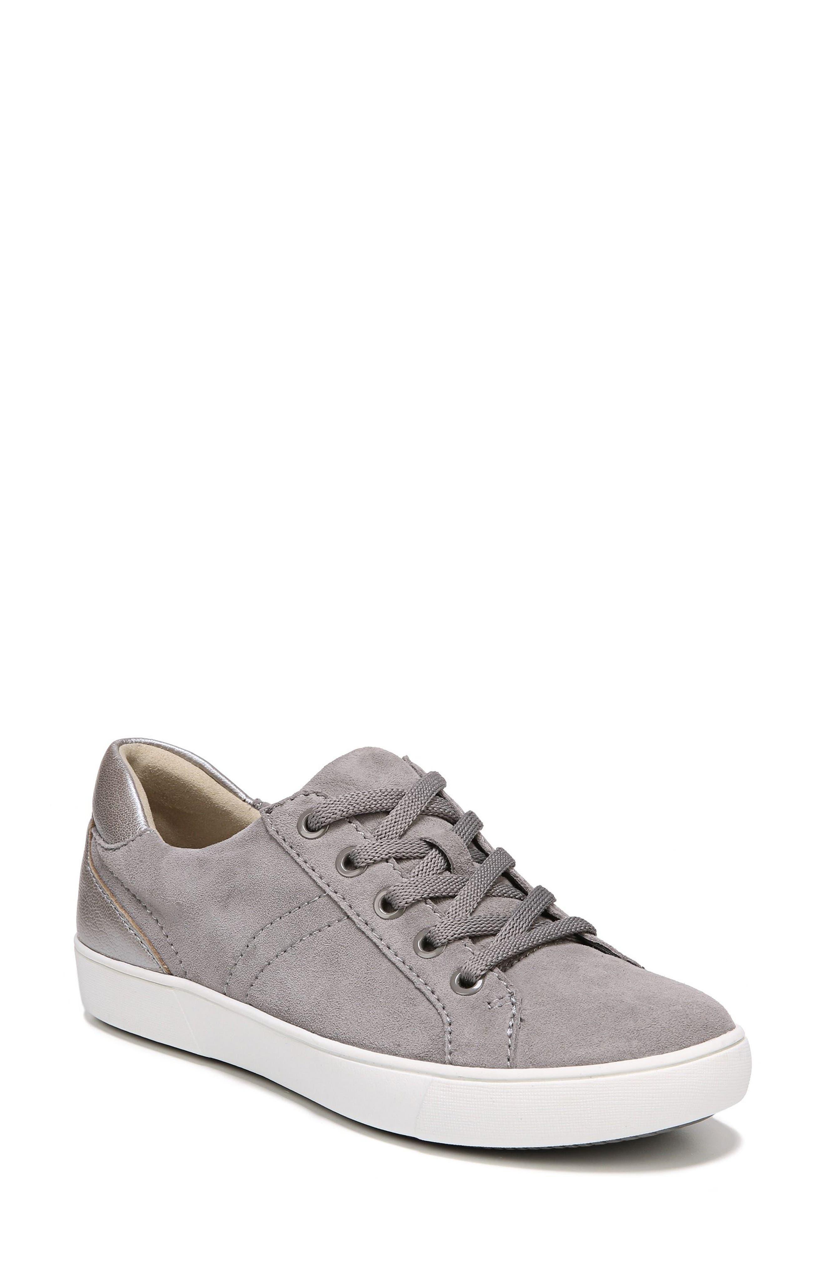 NATURALIZER Morrison Sneaker, Main, color, GREY SUEDE