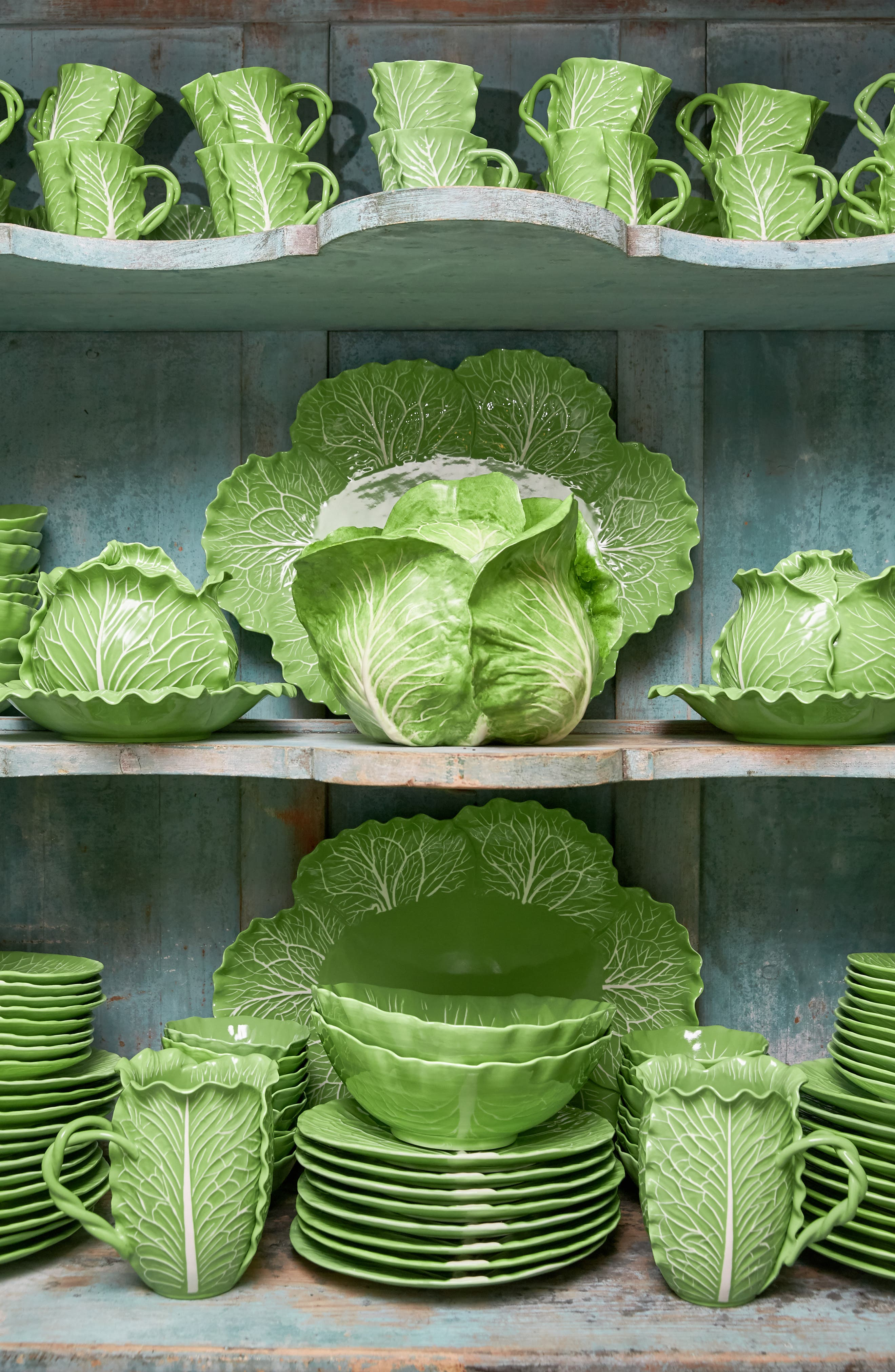 TORY BURCH, Lettuce Ware Hors d'Oeuvres Bowl, Alternate thumbnail 4, color, 307