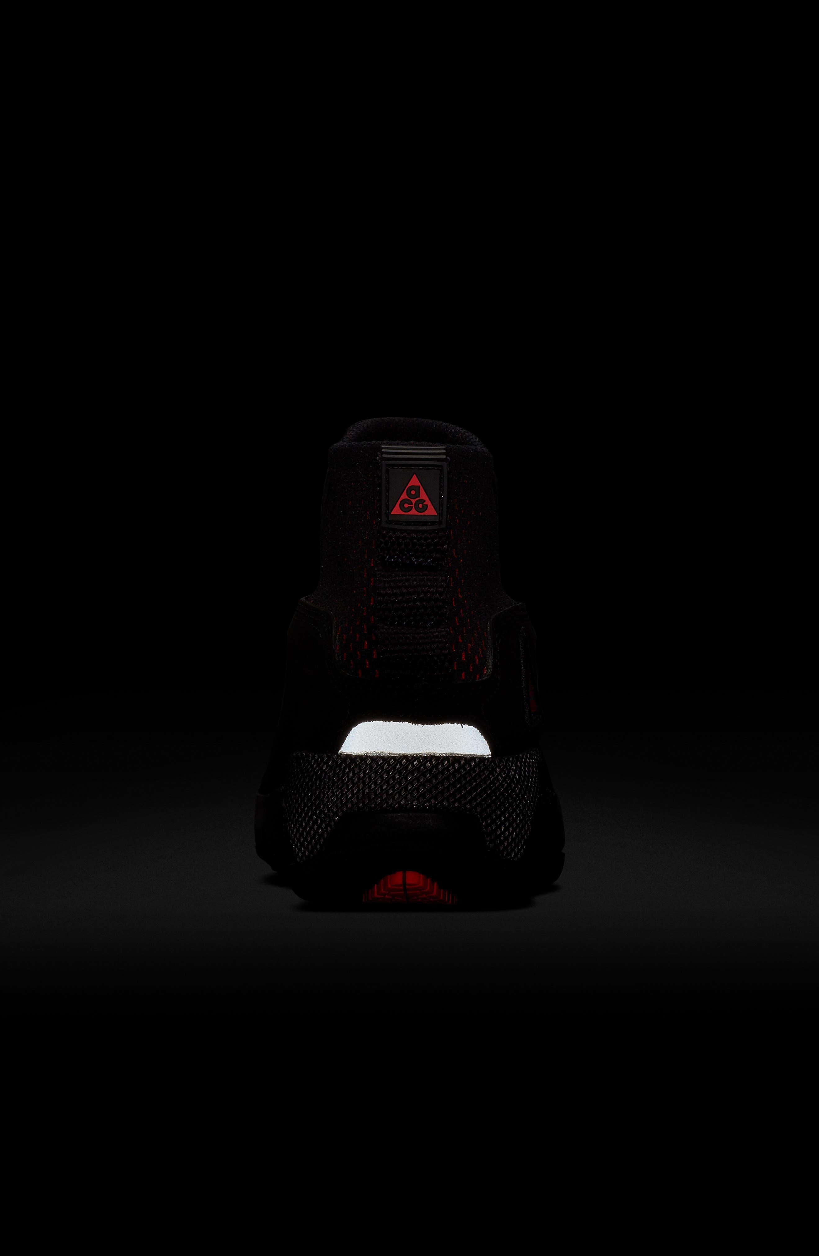 NIKE, ACG Ruckel Ridge Sneaker, Alternate thumbnail 8, color, 002