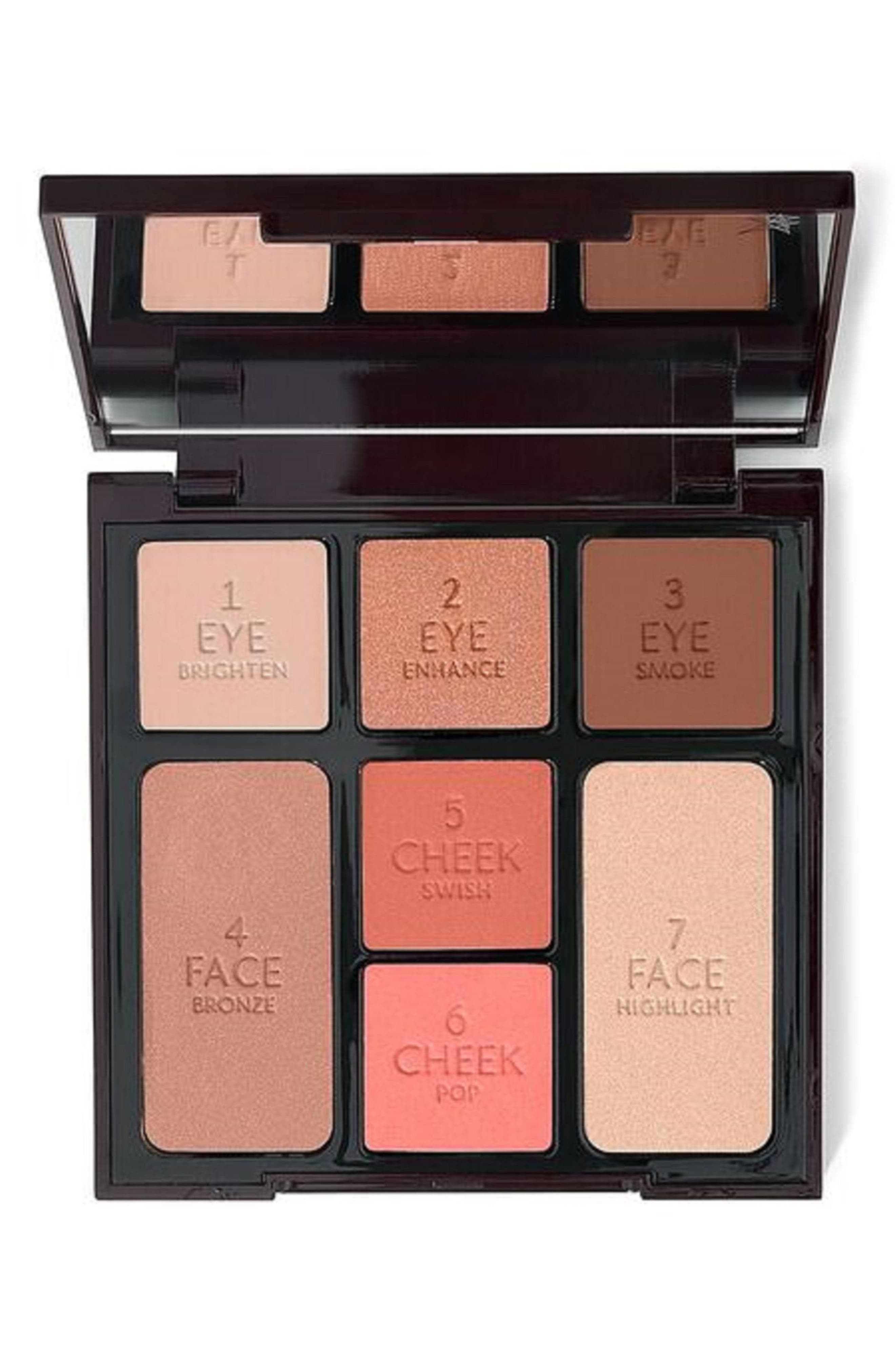 CHARLOTTE TILBURY, Instant Look in a Palette Beauty Glow, Main thumbnail 1, color, 000