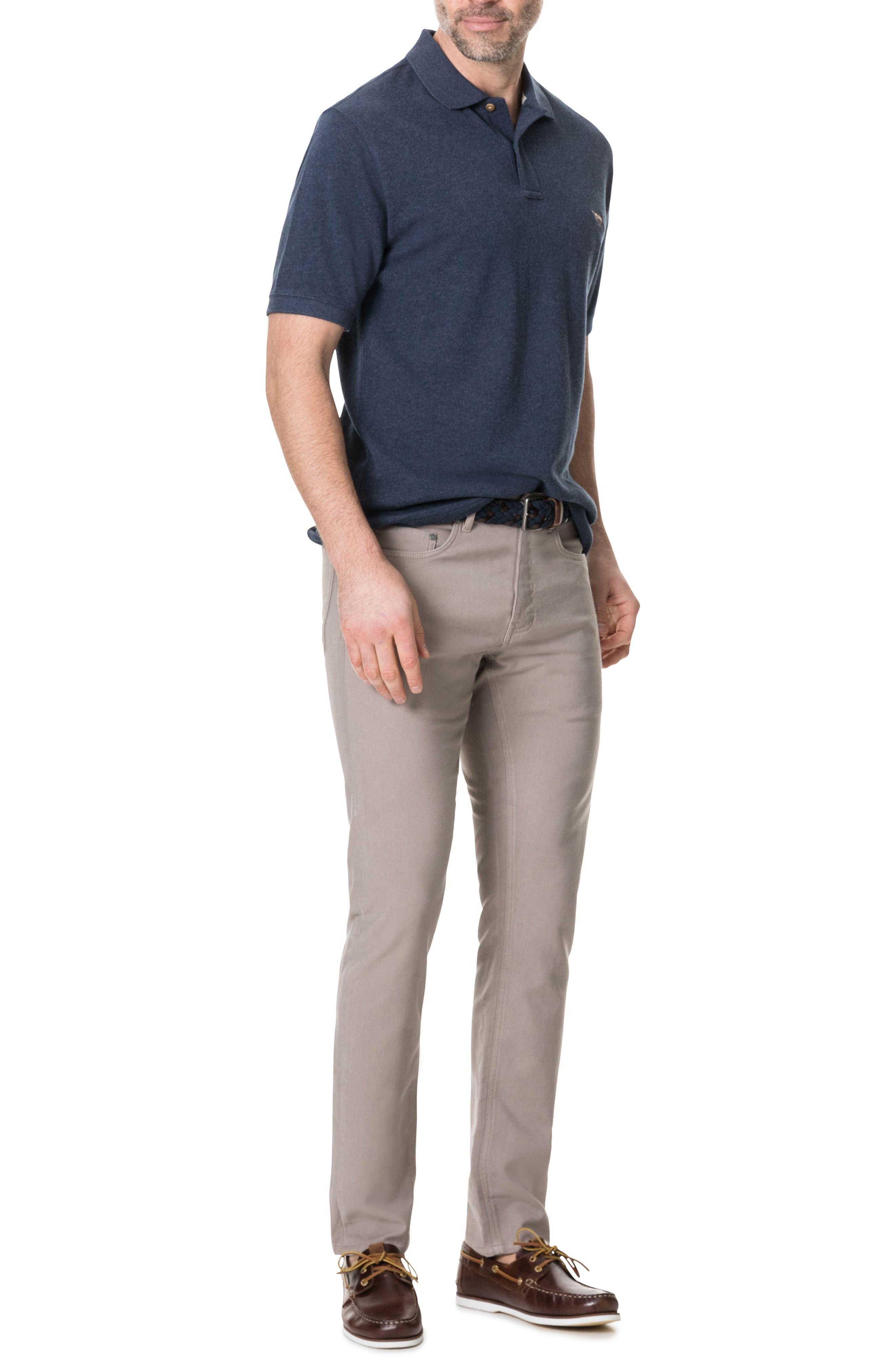 RODD & GUNN, Motion Straight Fit Jeans, Alternate thumbnail 4, color, SABLE
