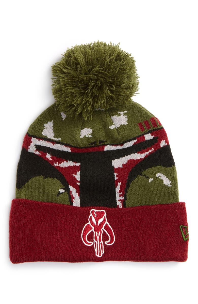 ac4848cff New Era Cap 'Star Wars™ - Boba Fett' Pompom Knit Beanie | Nordstrom