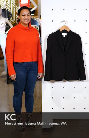 Jabina Tropical Stretch Wool Jacket, sales video thumbnail