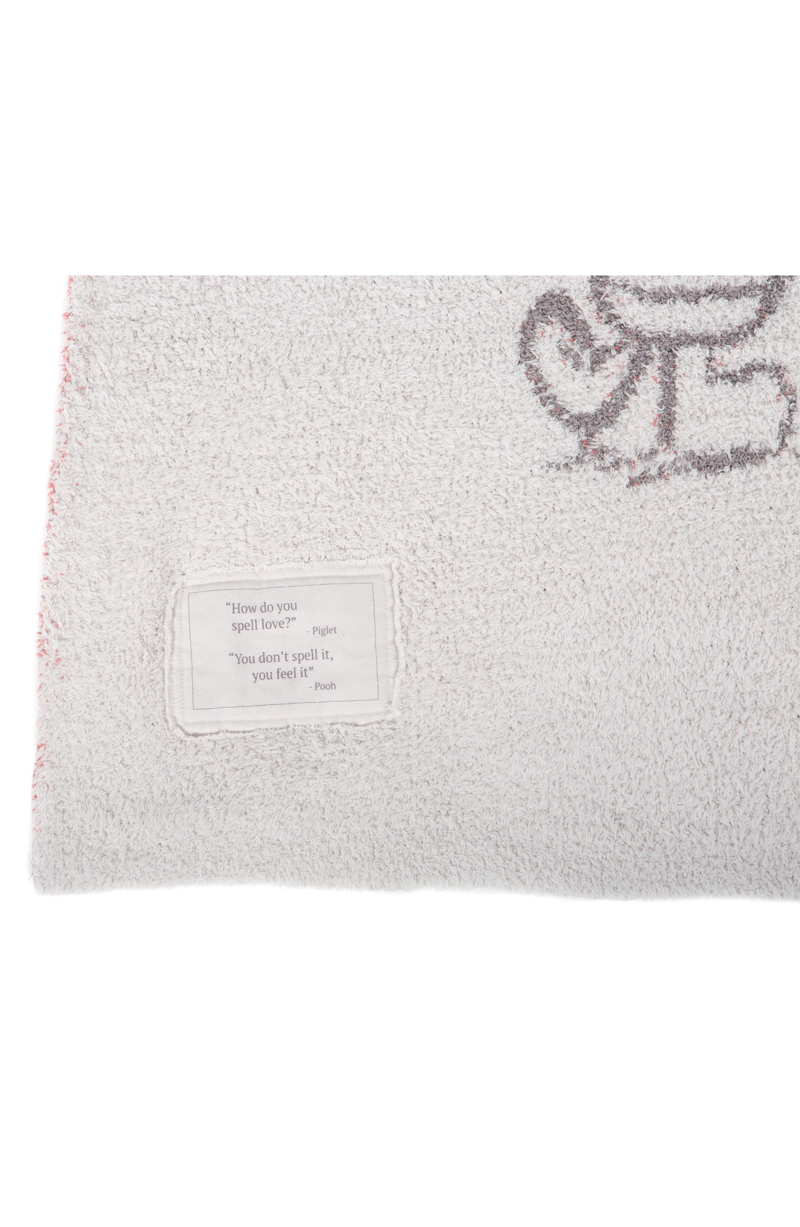 BAREFOOT DREAMS<SUP>®</SUP>, CozyChic<sup>™</sup> Disney Winnie the Pooh Throw, Alternate thumbnail 2, color, ALMOND MULTI