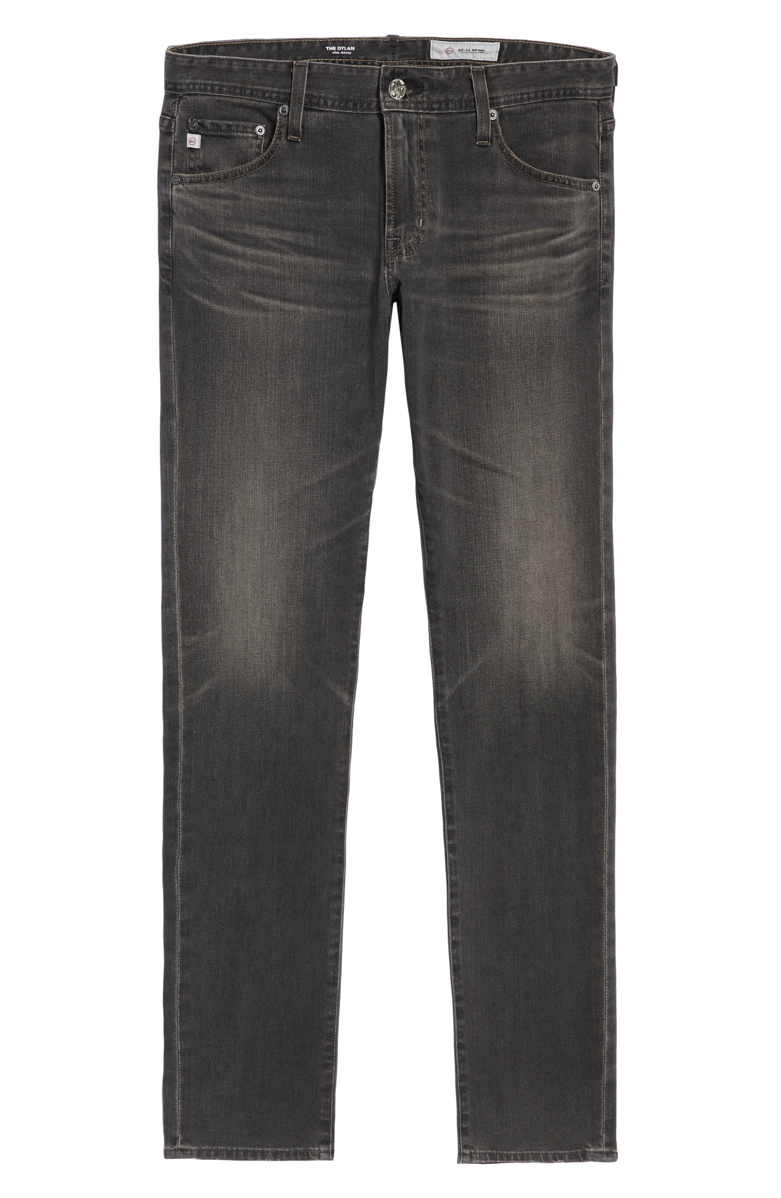 AG, Dylan Skinny Fit Jeans, Alternate thumbnail 6, color, 014