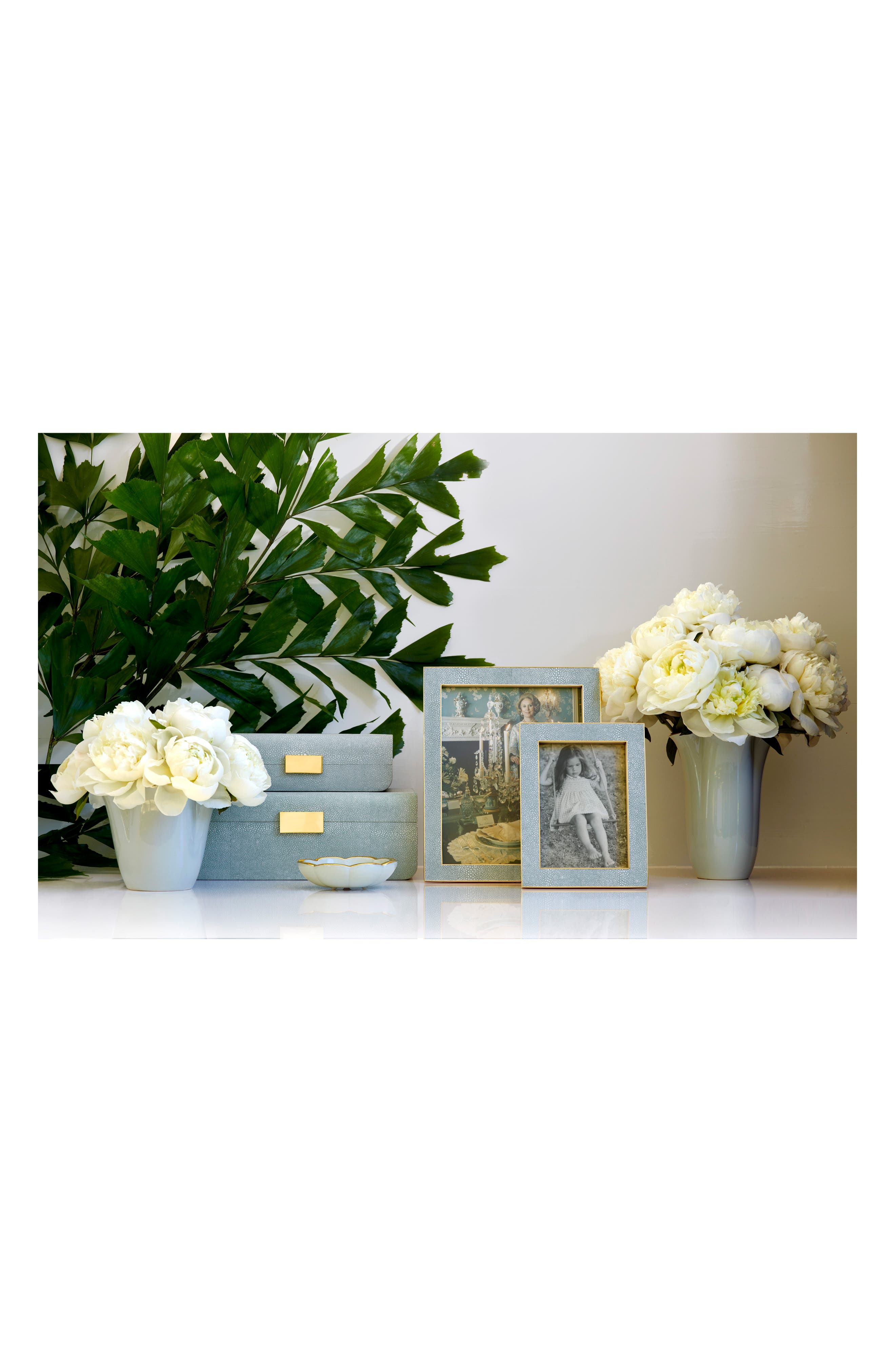 AERIN, Classic Shagreen Picture Frame, Alternate thumbnail 2, color, 400