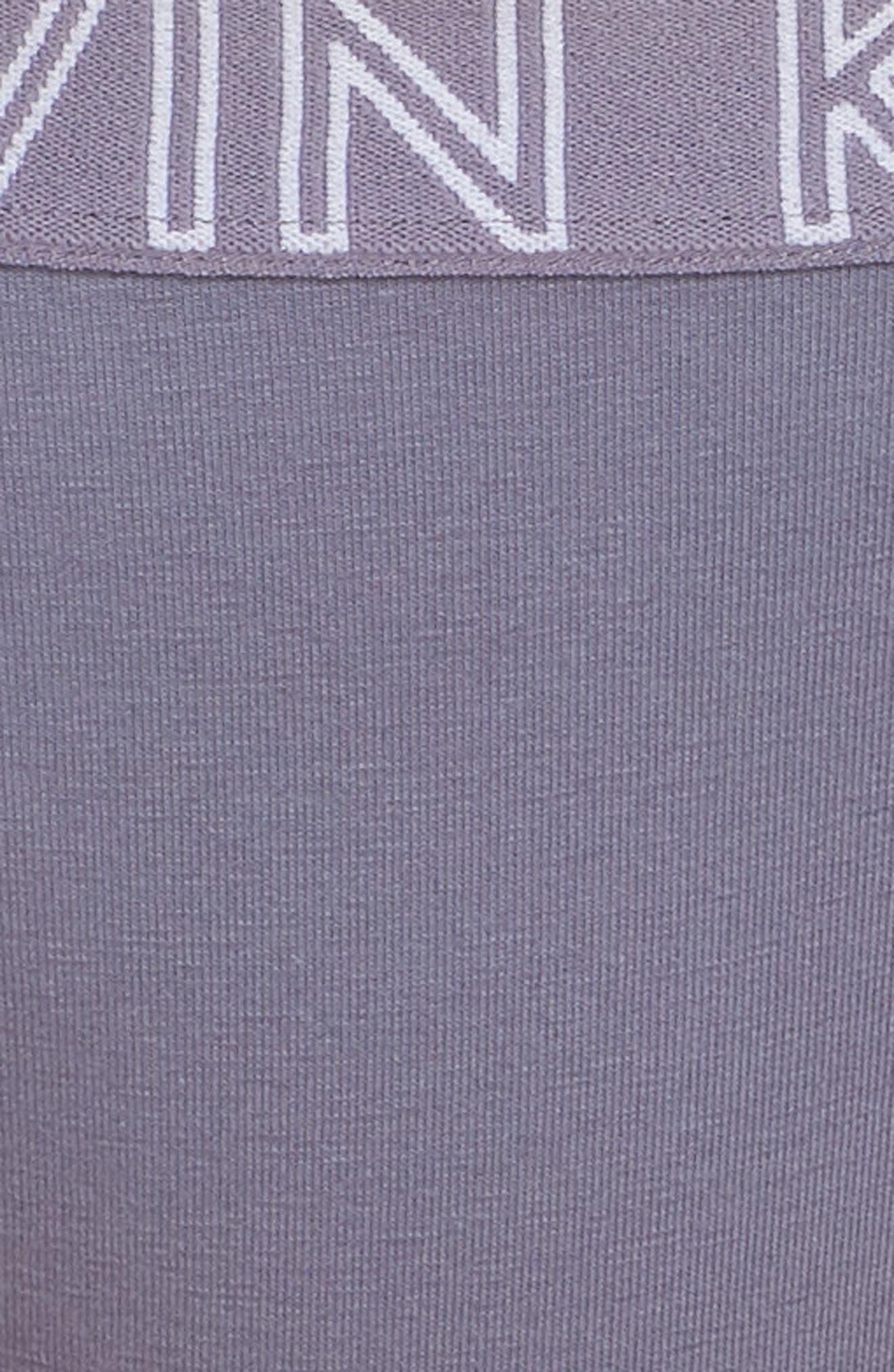 CALVIN KLEIN, Ultimate Thong, Alternate thumbnail 5, color, BLUE GRANITE