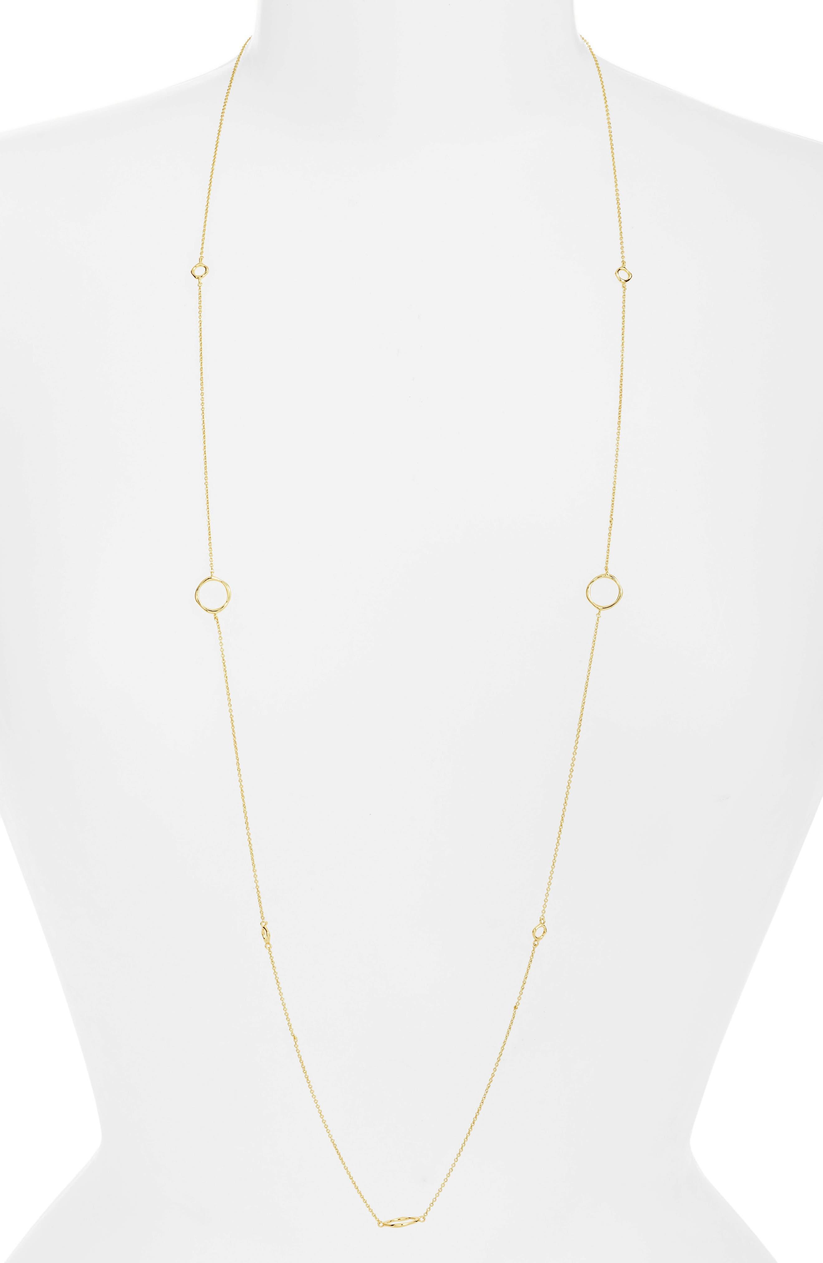 GORJANA, Quinn Wrap Necklace, Main thumbnail 1, color, GOLD