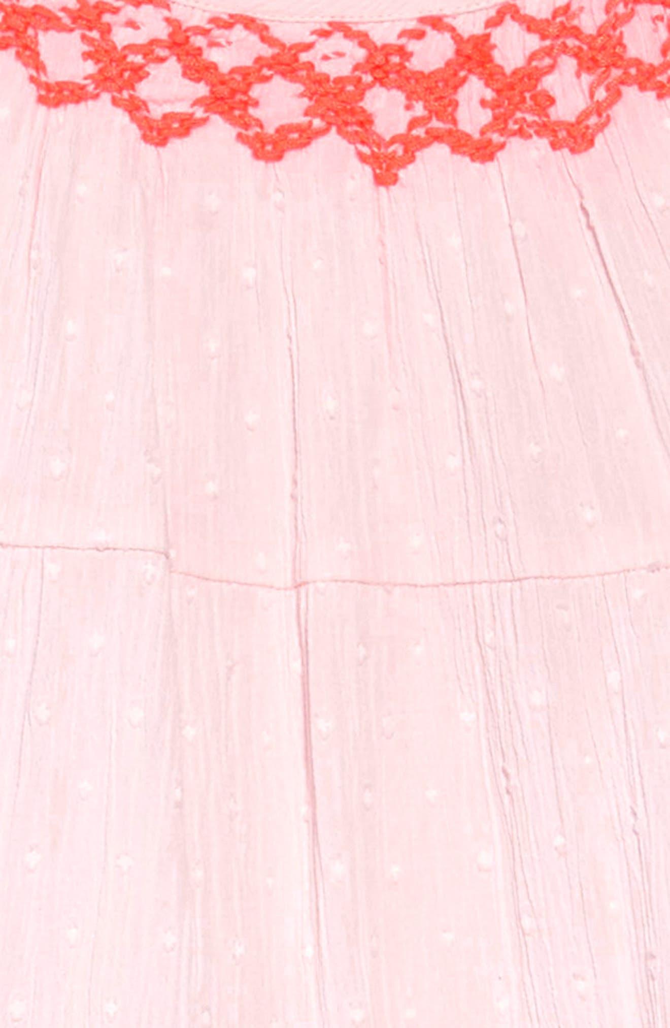 MINI BODEN, Twirly Dress, Alternate thumbnail 3, color, 684