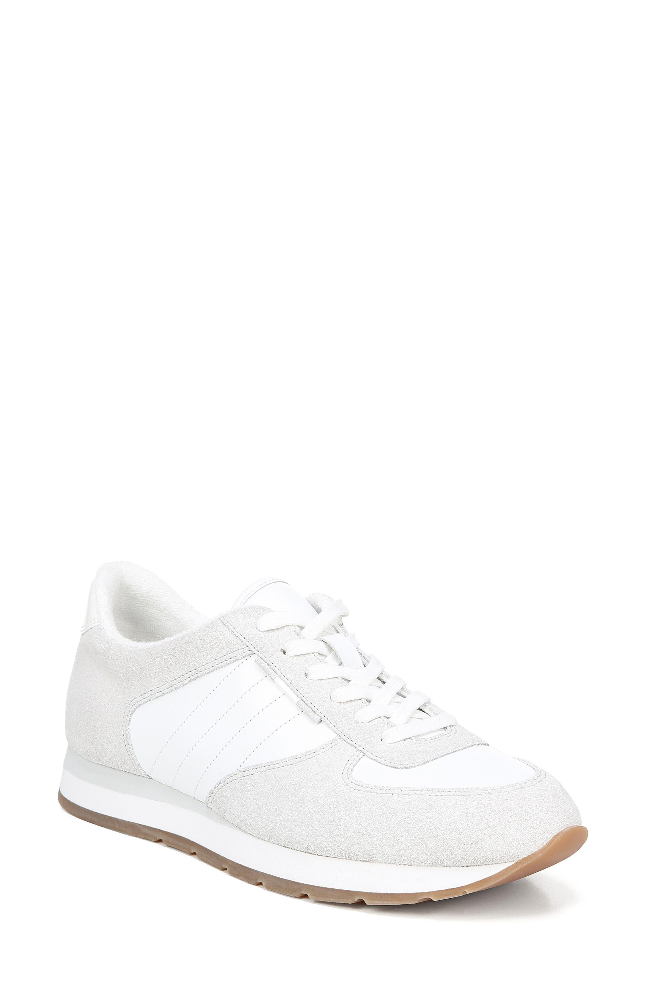 VINCE, Pasha Sneaker, Main thumbnail 1, color, WHITE