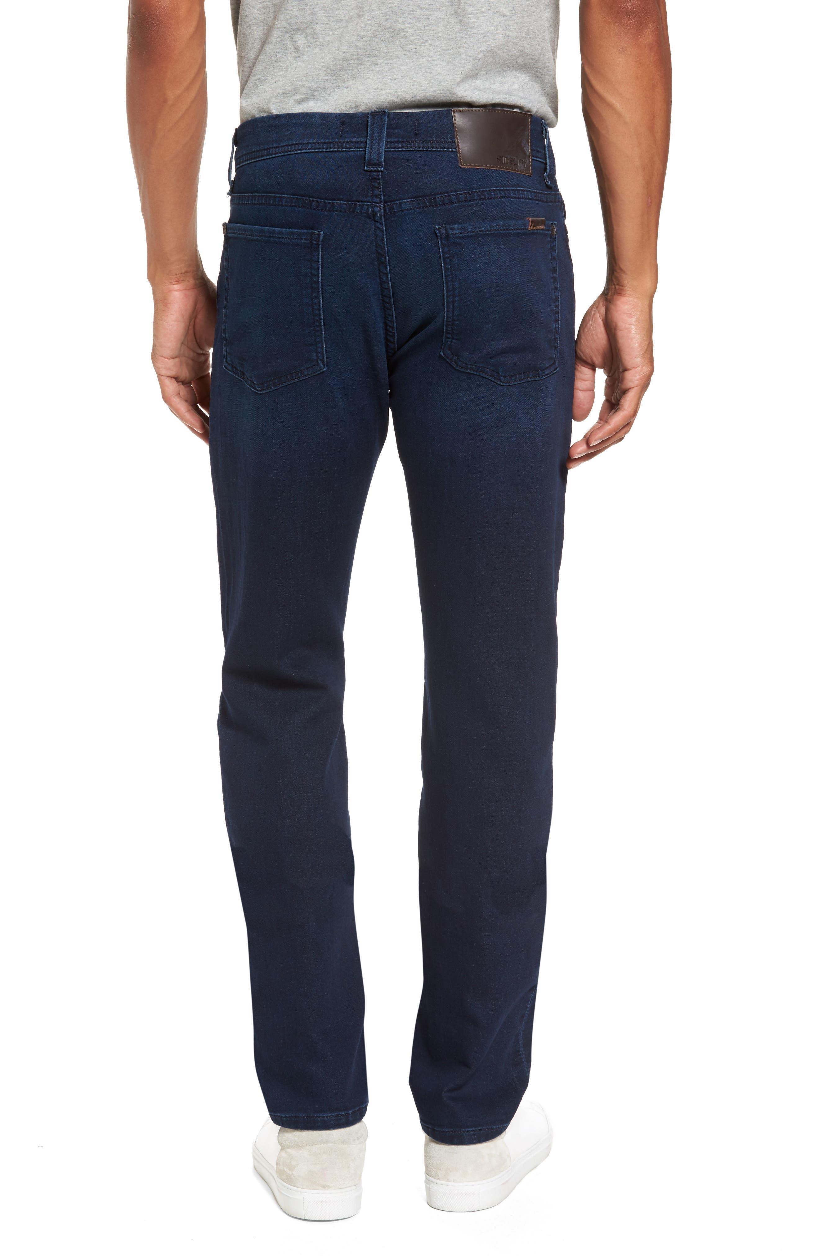FIDELITY DENIM, Jimmy Slim Straight Leg Jeans, Alternate thumbnail 2, color, 400