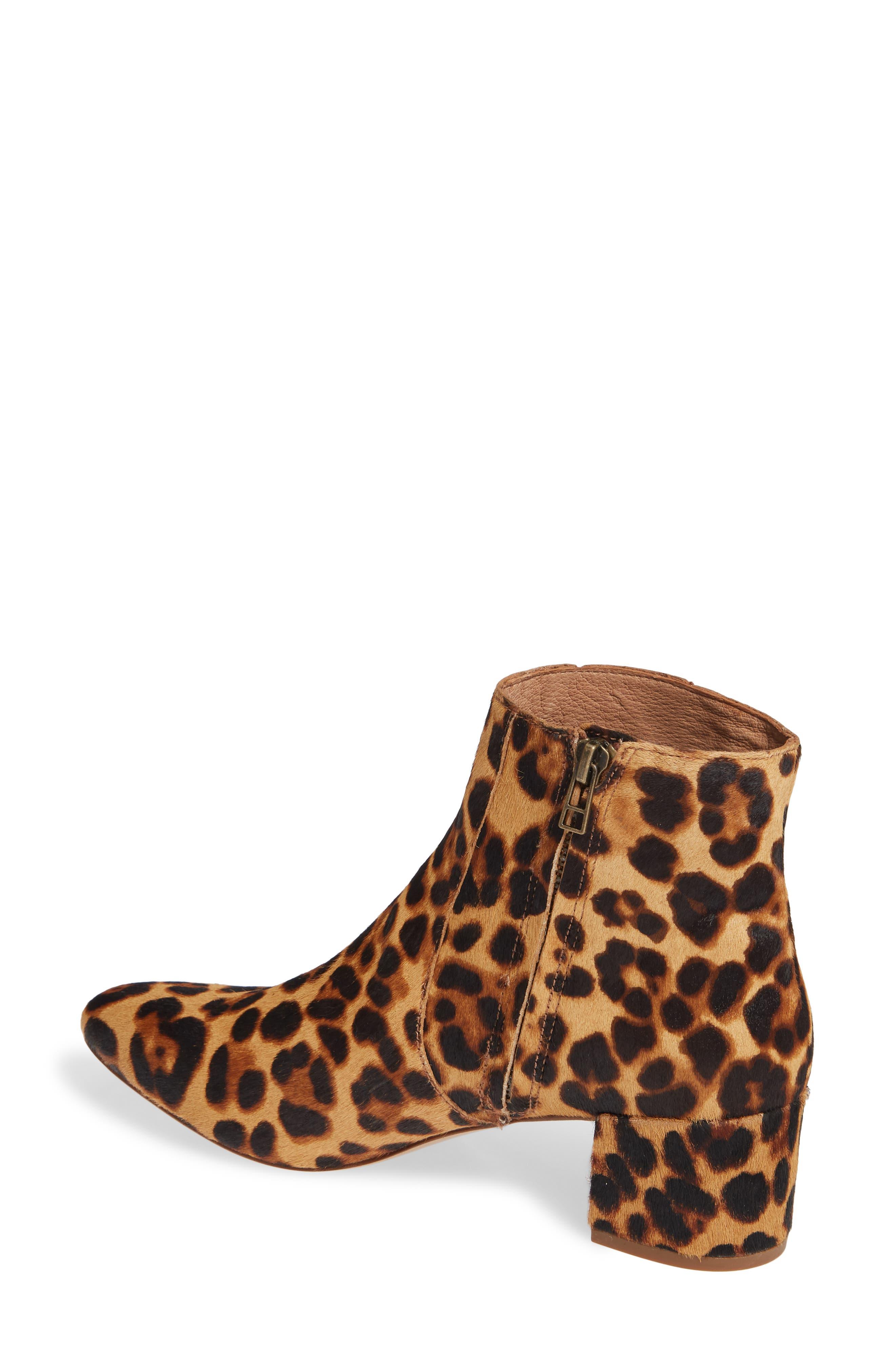 MADEWELL, The Jada Genuine Calf Hair Boot, Alternate thumbnail 2, color, 200