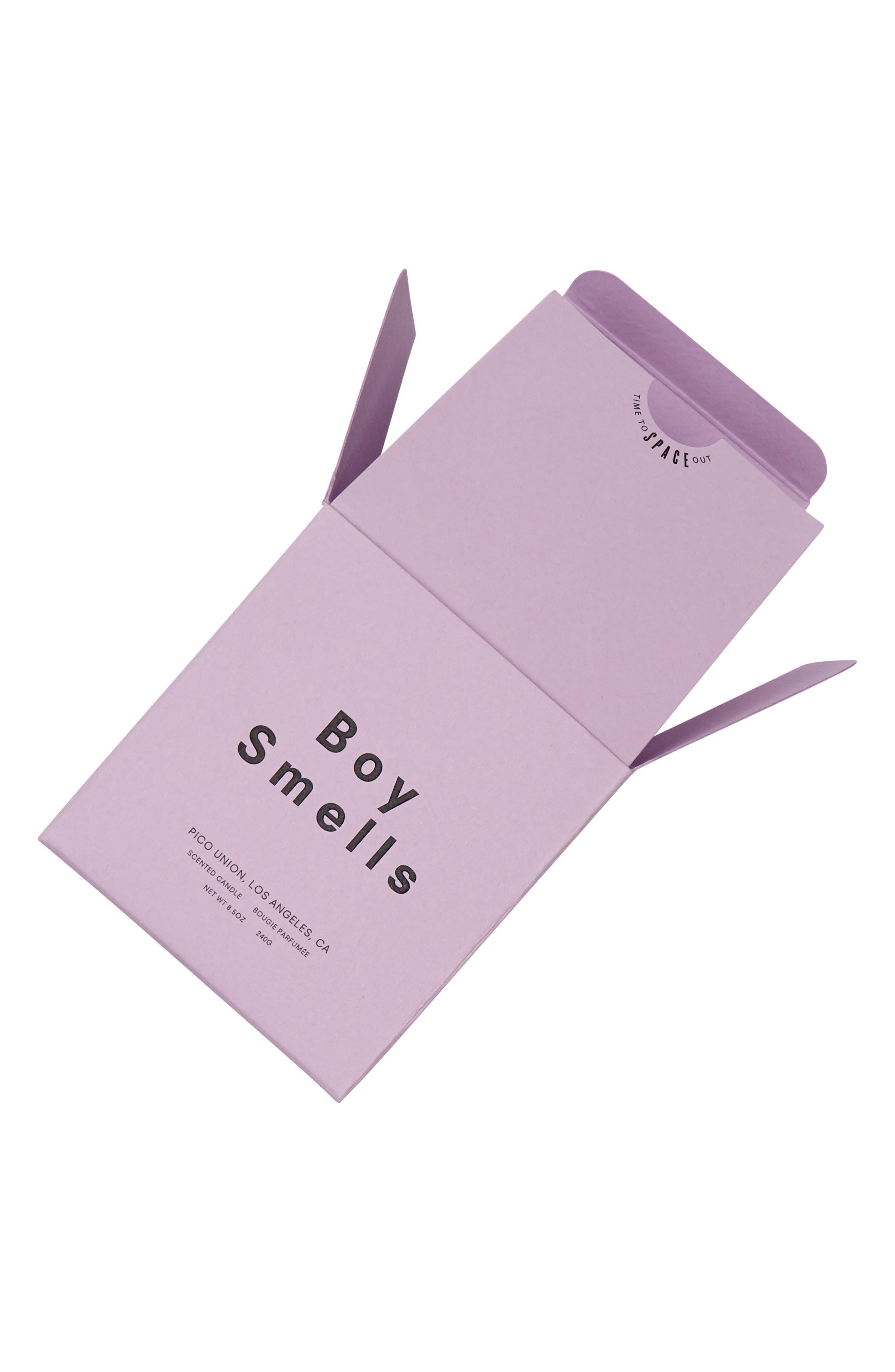 BOY SMELLS, Purple Kush Scented Candle, Alternate thumbnail 2, color, LAVENDER