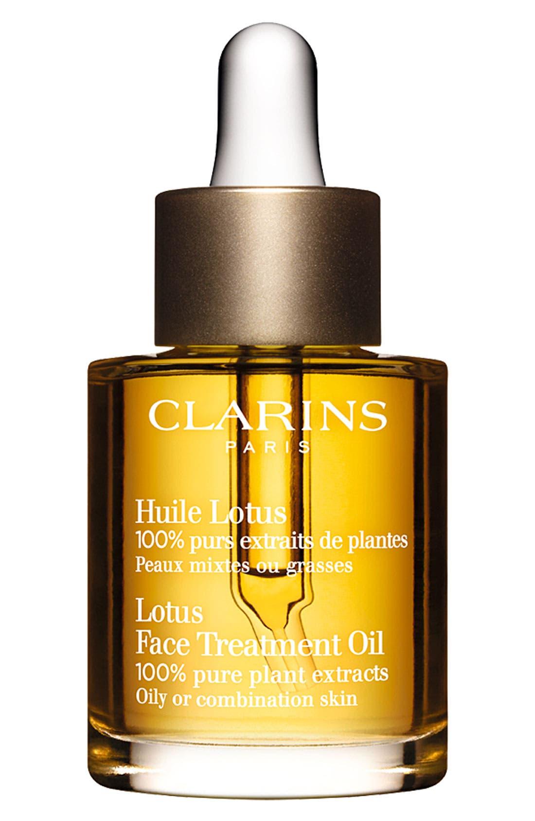 CLARINS, Lotus Face Treatment Oil, Main thumbnail 1, color, NO COLOR