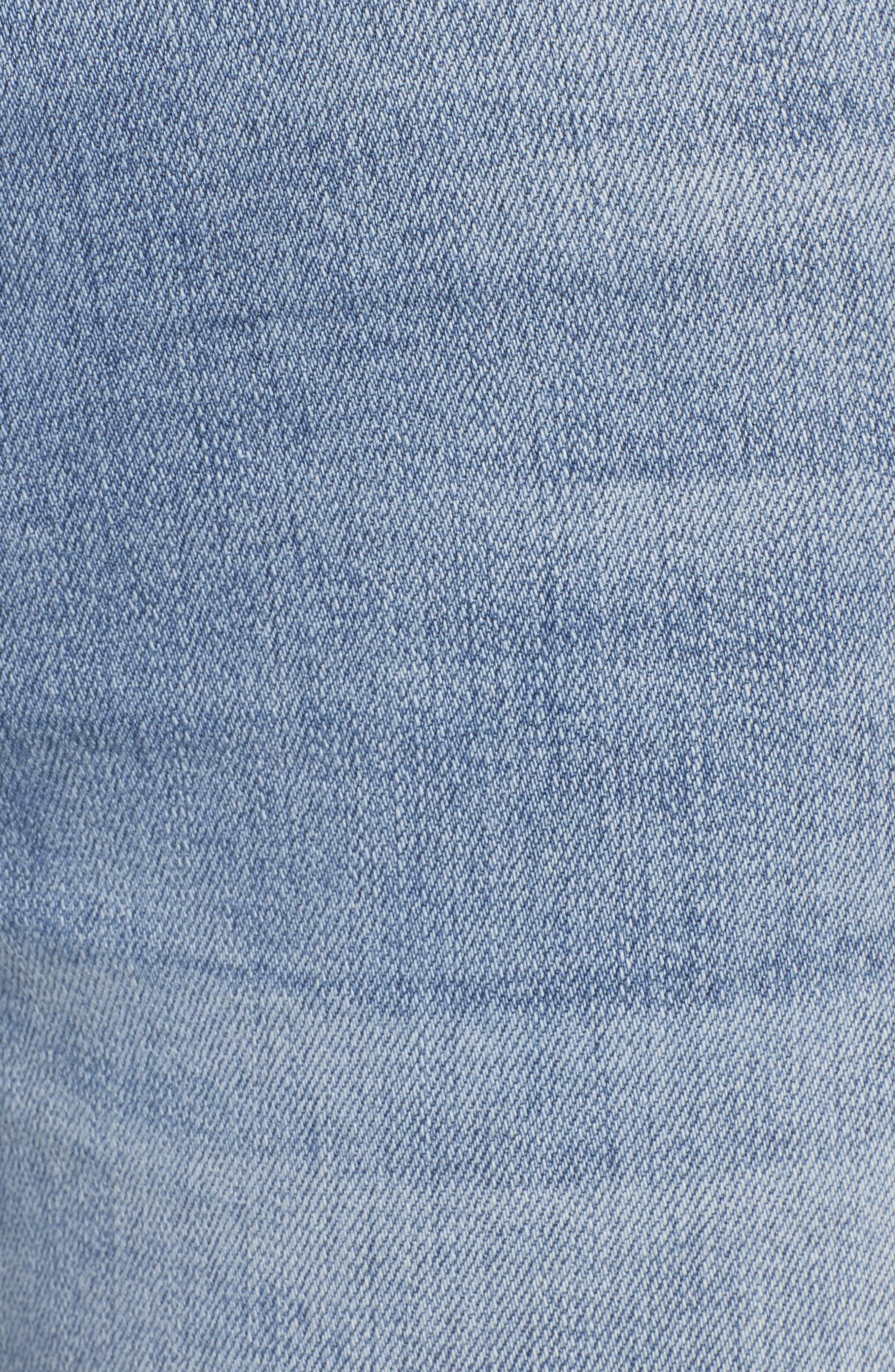 BP., High Waist Skinny Jeans, Alternate thumbnail 6, color, 400