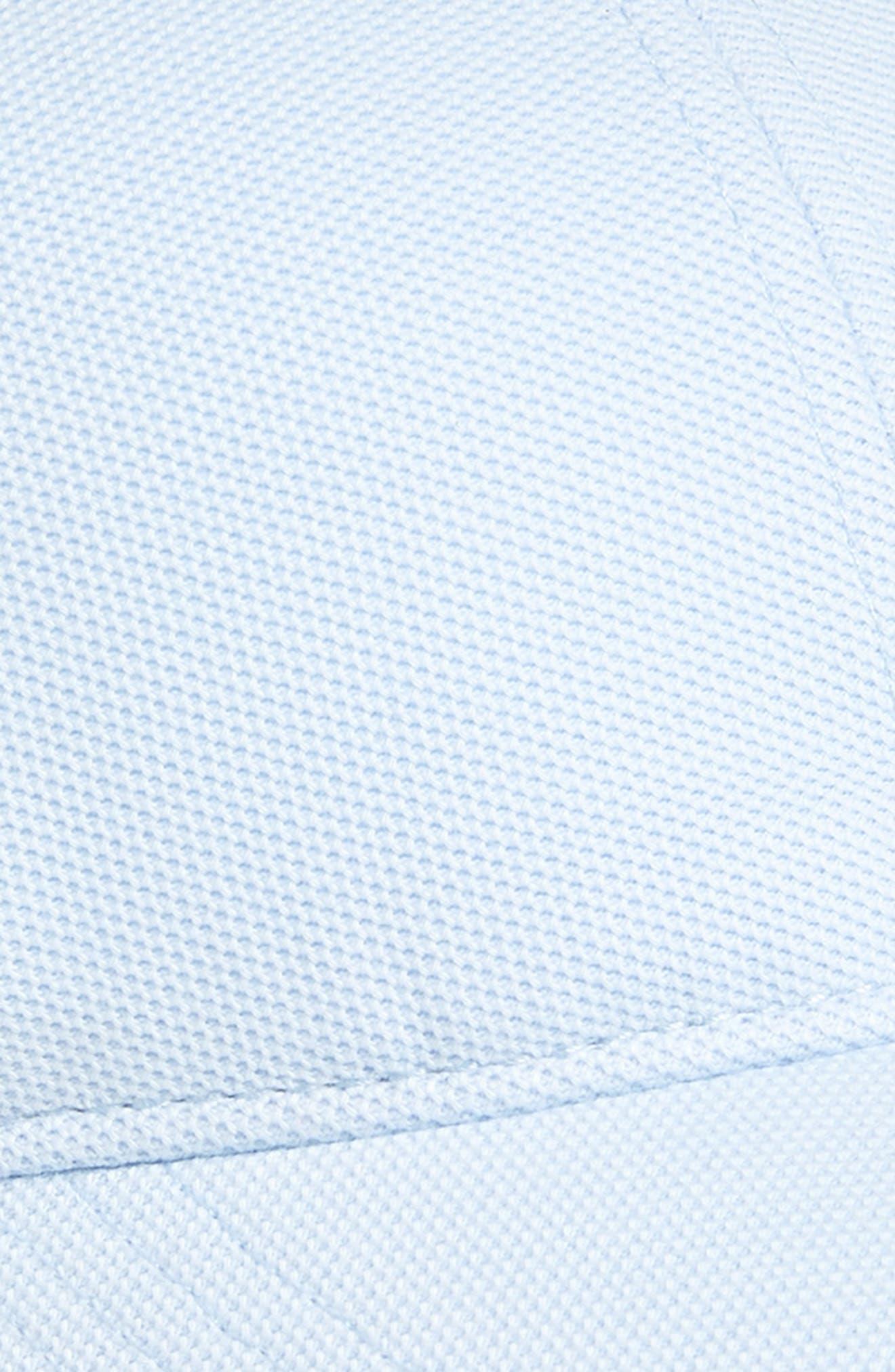 LACOSTE, Croc Cotton Baseball Cap, Alternate thumbnail 3, color, RILL