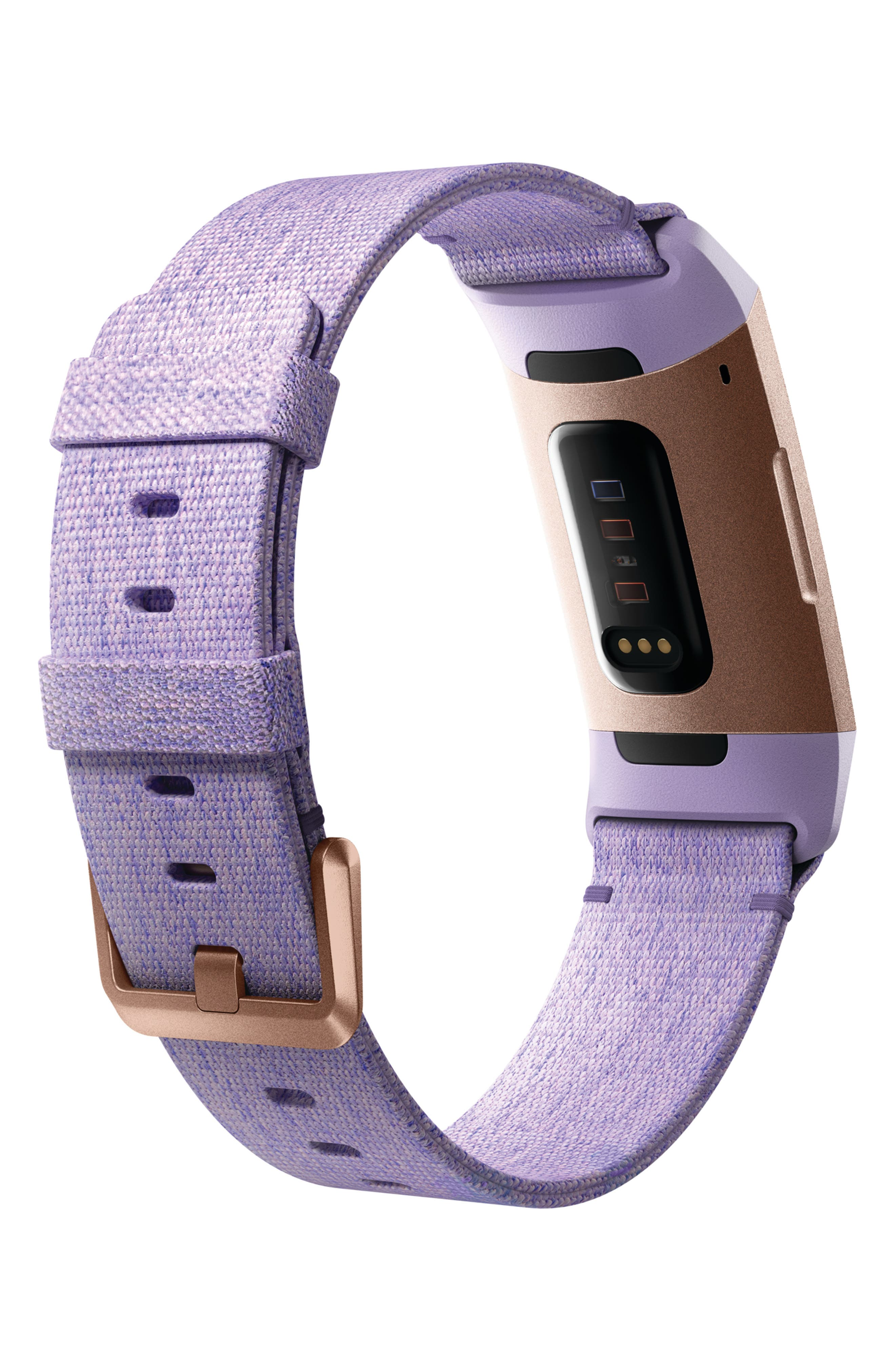 FITBIT, Charge 3 Special Edition Wireless Activity & Heart Rate Tracker, Alternate thumbnail 2, color, LAVENDER