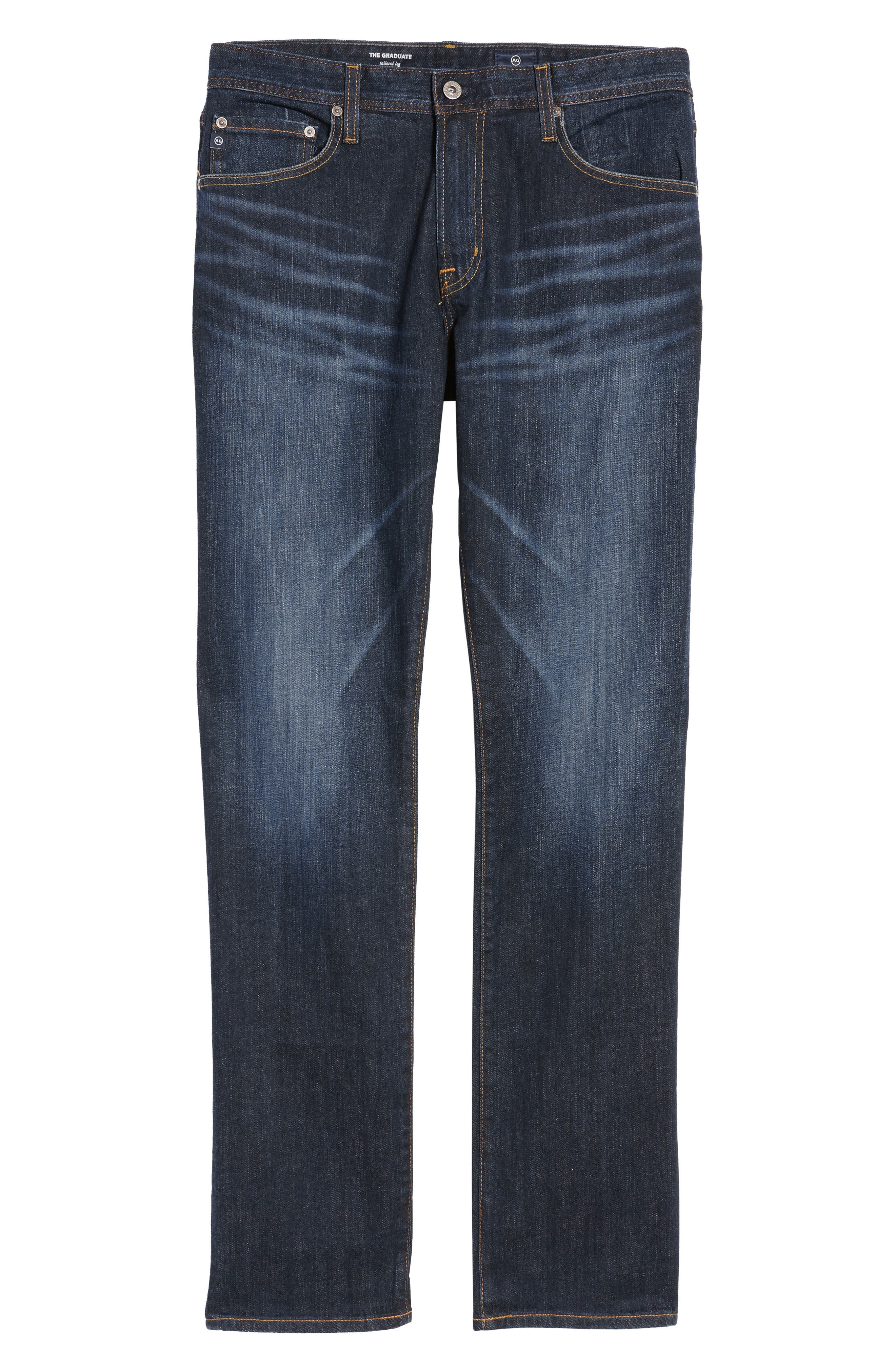 AG, Graduate Slim Straight Leg Jeans, Main thumbnail 1, color, ROBINSON