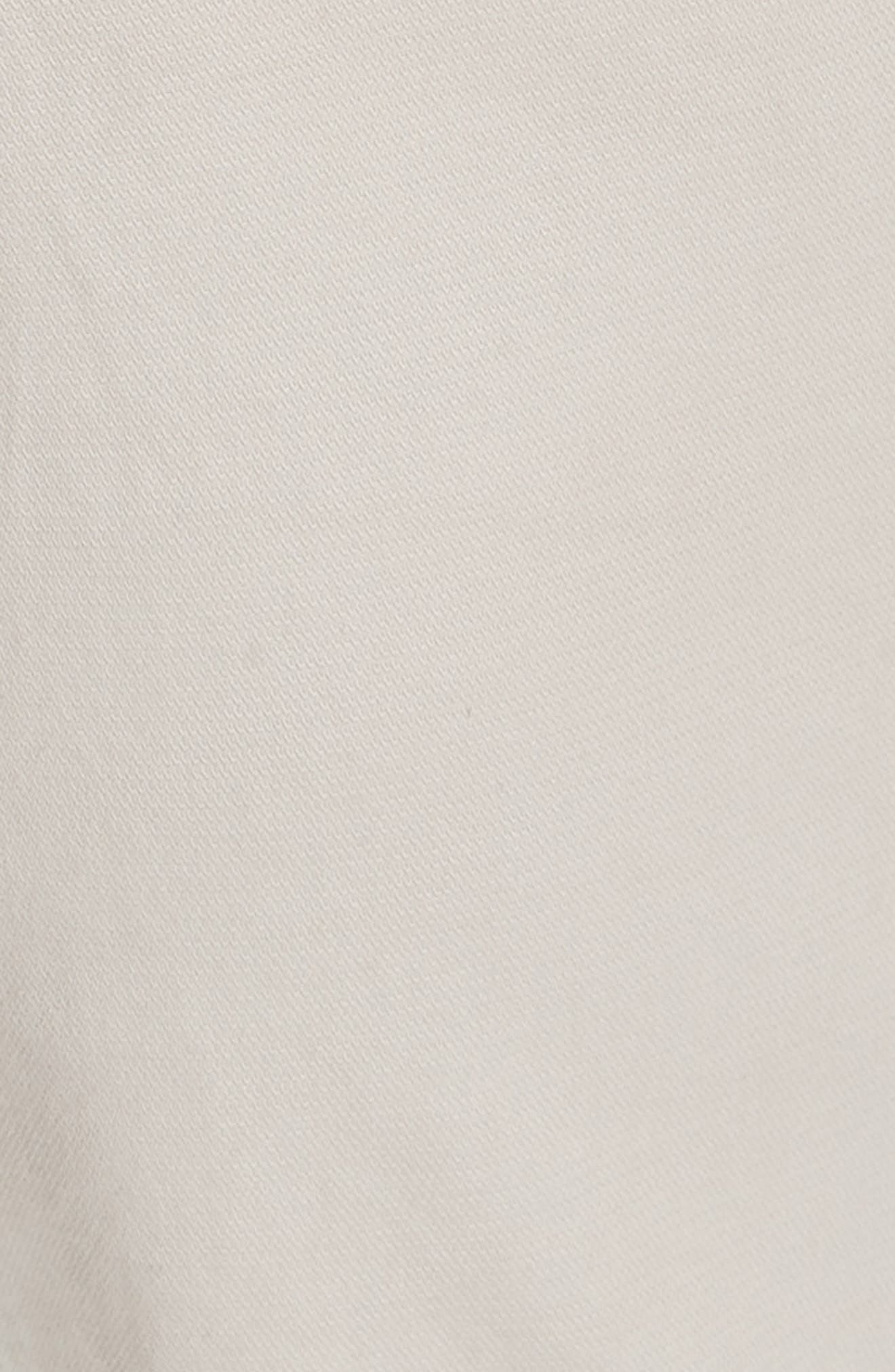 CANALI, Stretch Cotton Five Pocket Trousers, Alternate thumbnail 6, color, BEIGE