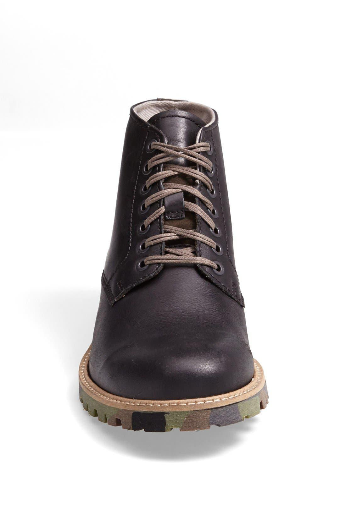 ALDO, 'Cetuur' Plain Toe Boot, Alternate thumbnail 2, color, 002