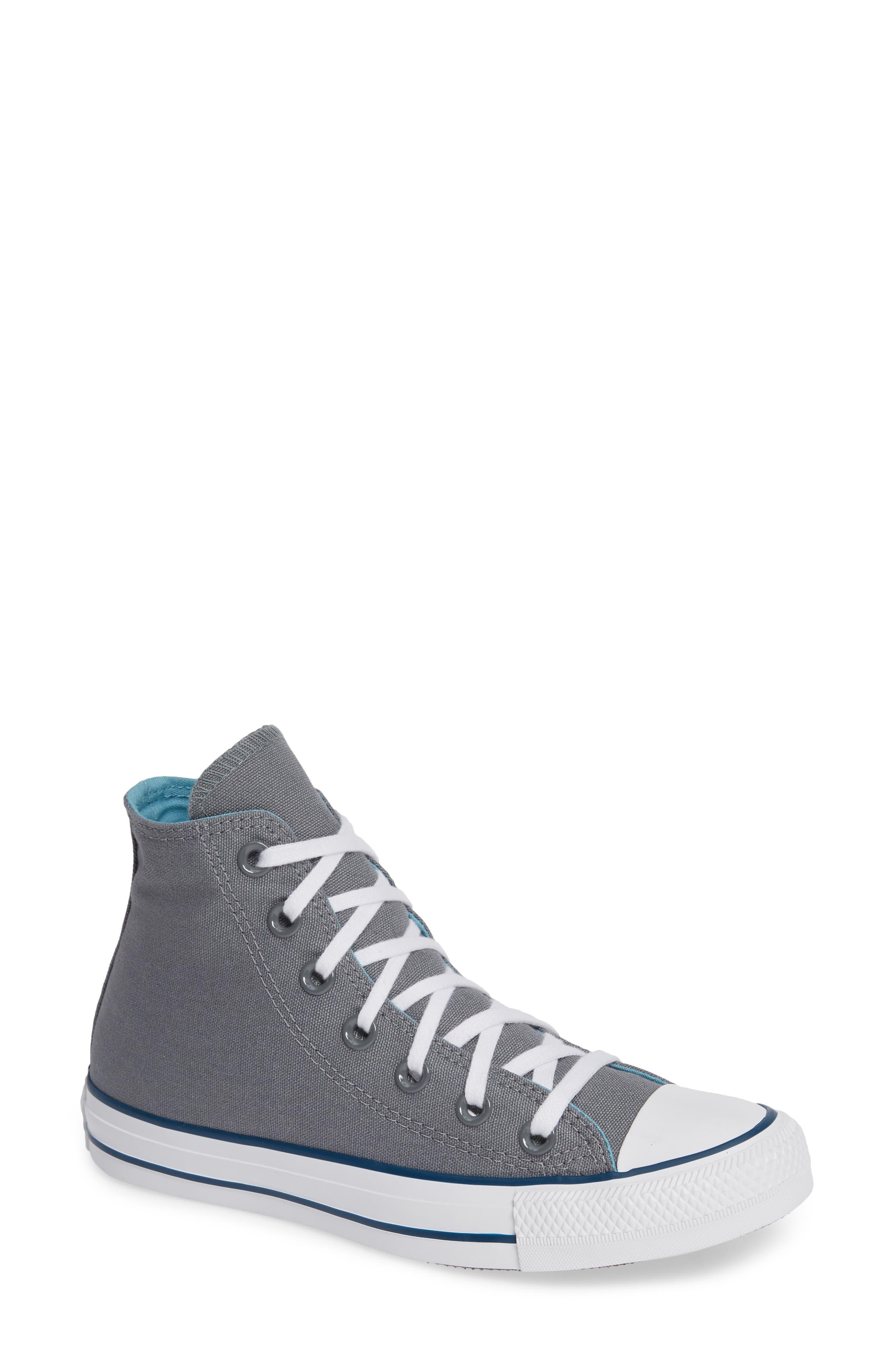CONVERSE, Chuck Taylor<sup>®</sup> All Star<sup>®</sup> Seasonal Hi Sneaker, Main thumbnail 1, color, 039