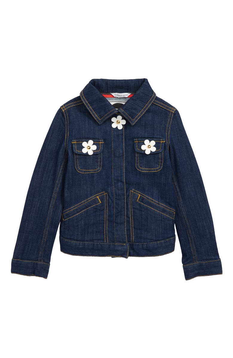 7eda48e060a53 LITTLE MARC JACOBS Daisies Denim Jacket (Little Girls   Big Girls ...