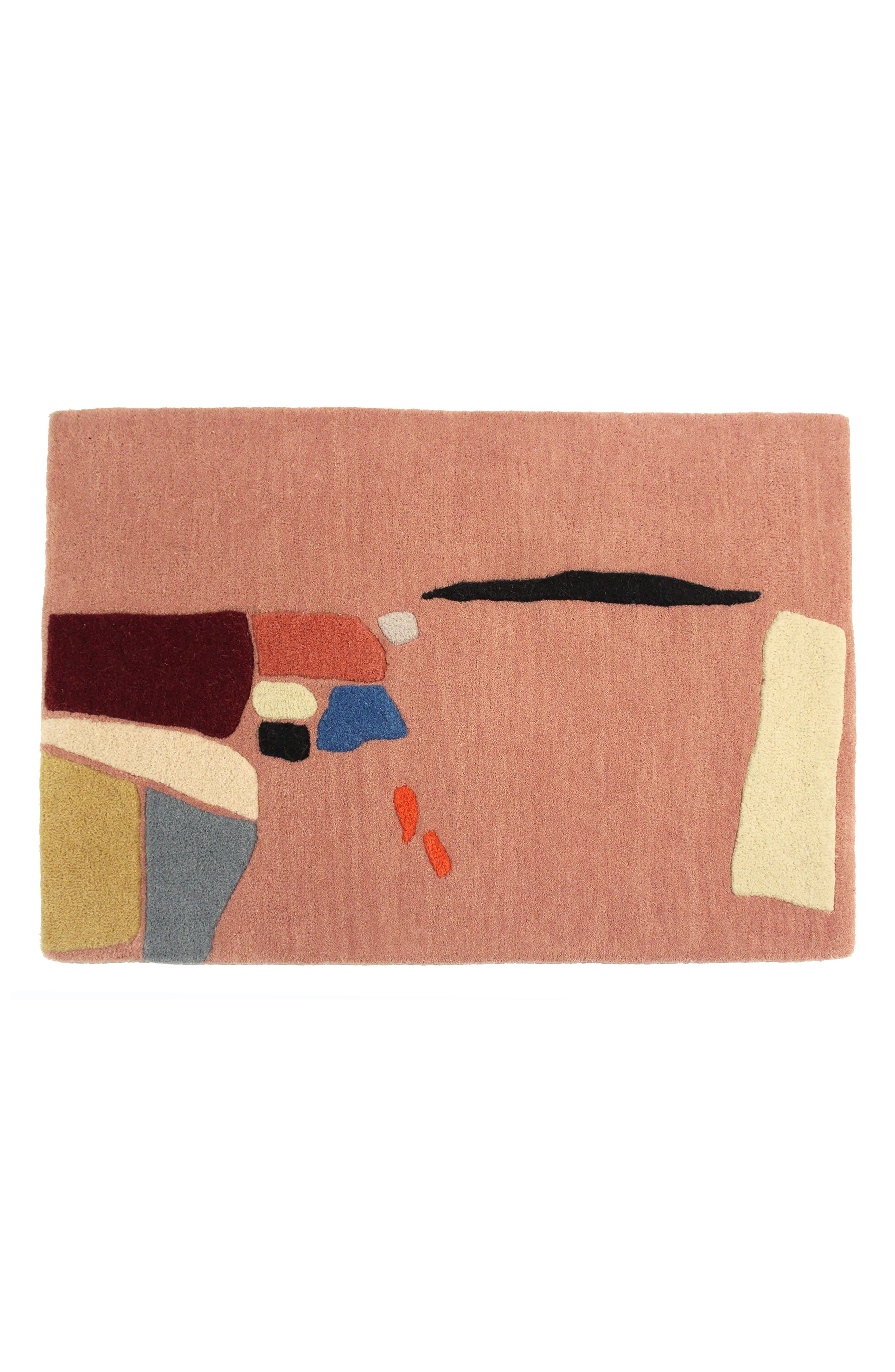 COLD PICNIC Salt Flats Hand Tufted Wool Rug, Main, color, 650
