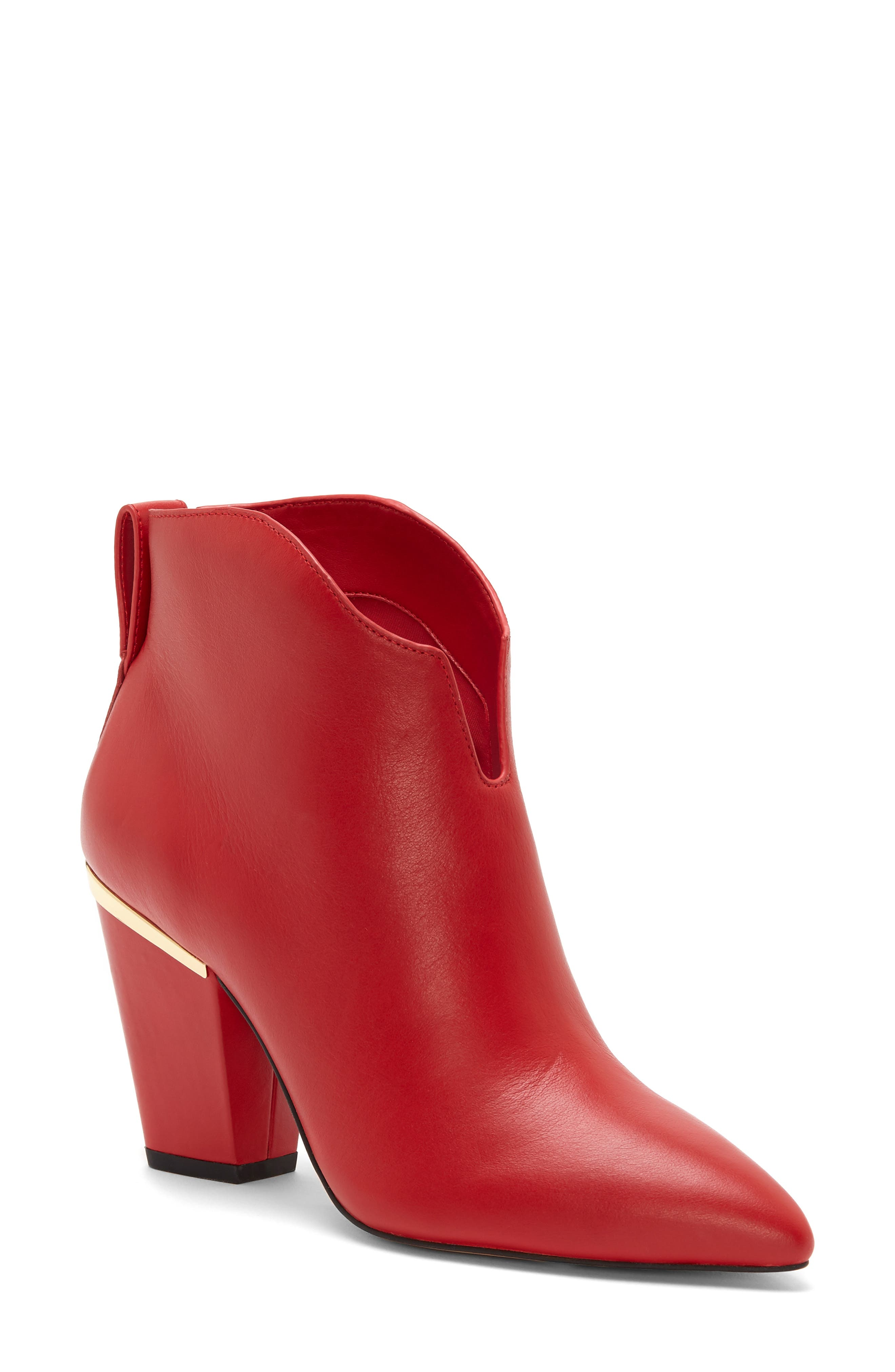 1.state Corben Boot, Red