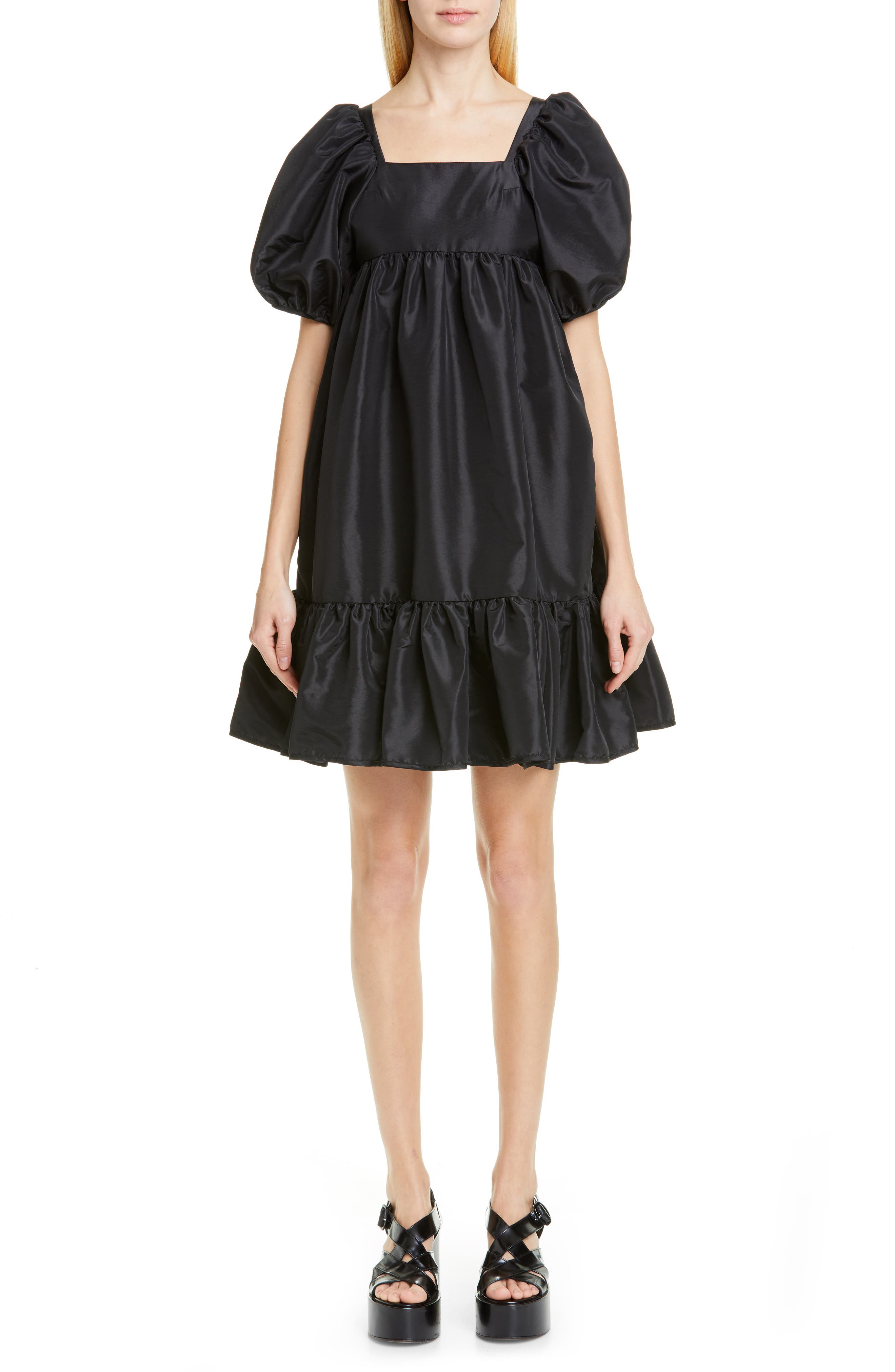 Cecilie Bahnsen Renee Dress, US / 8 UK - Black
