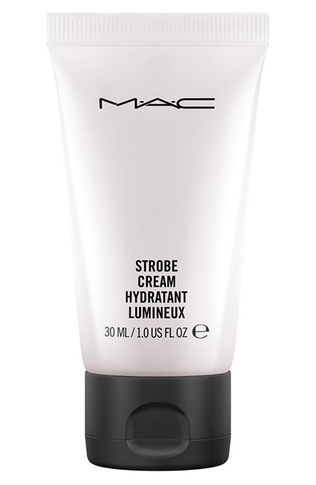MAC COSMETICS, MAC Mini MAC Strobe Cream, Main thumbnail 1, color, PINKLITE