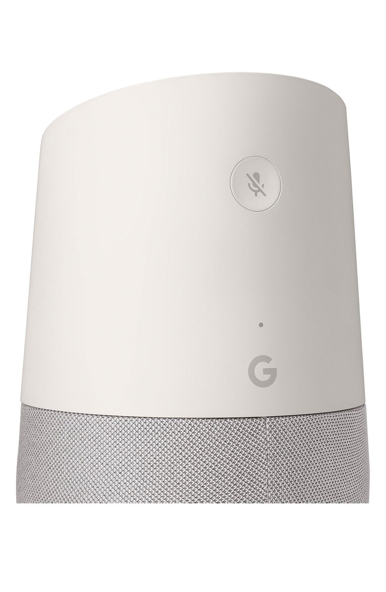 GOOGLE, Home Voice Activated Speaker, Alternate thumbnail 4, color, 100