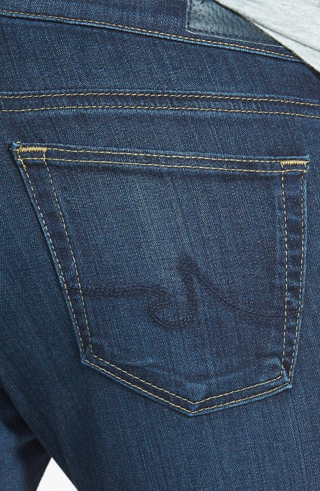 AG, 'The Angelina' Bootcut Jeans, Alternate thumbnail 3, color, 400